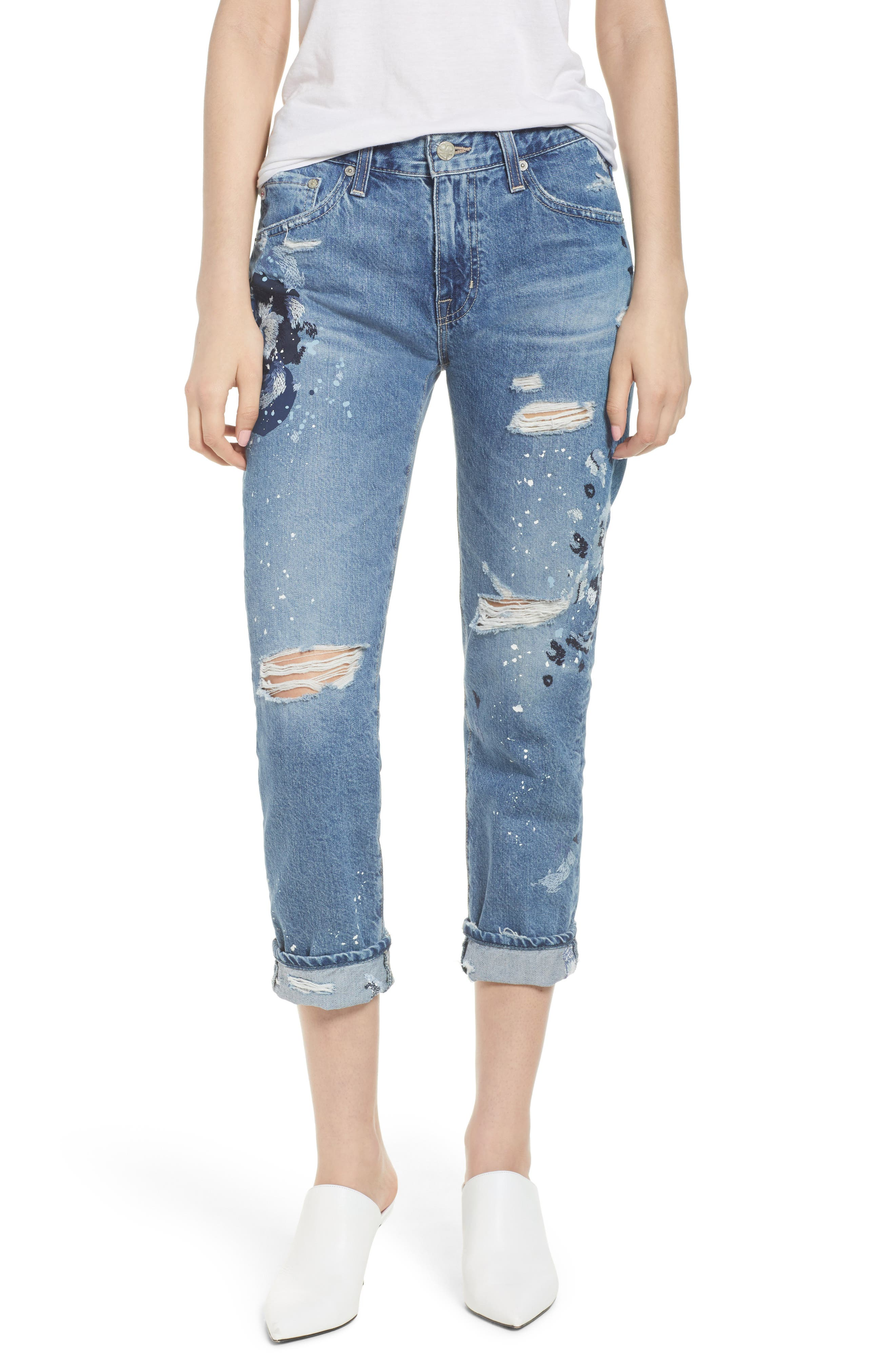The Ex-Boyfriend Slim Jeans,                         Main,                         color, 15 Years-Painters Whim