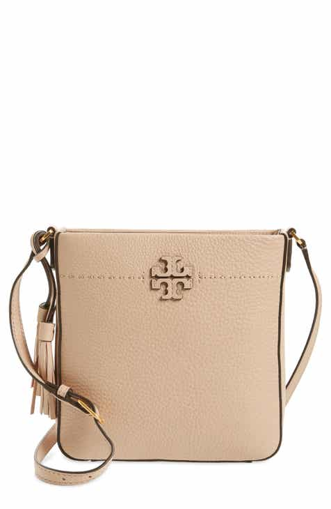 59925b9da11 Tory Burch McGraw Leather Crossbody Tote