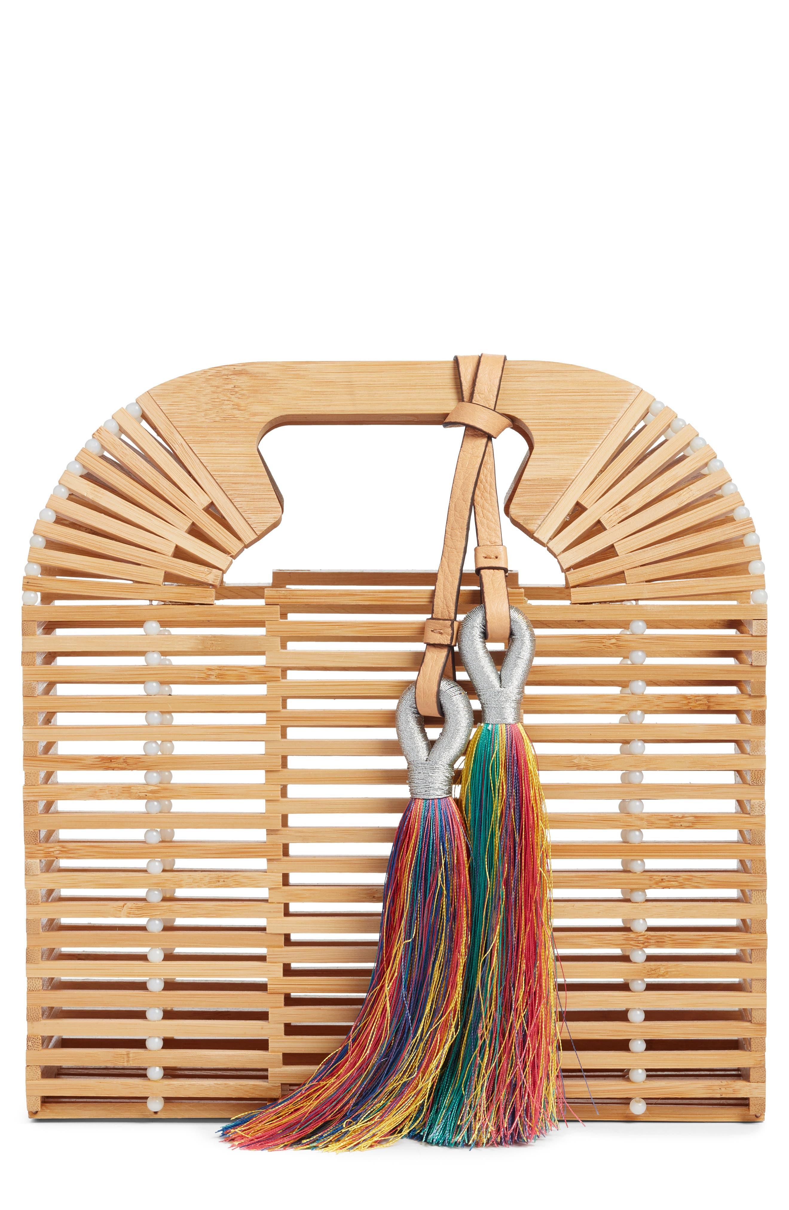Vince Camuto Bayne Bamboo Handbag