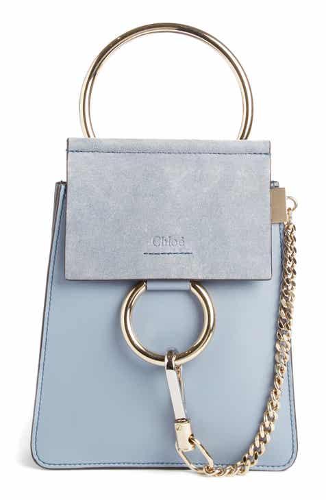 Chloé Faye Small Suede Leather Bracelet Bag