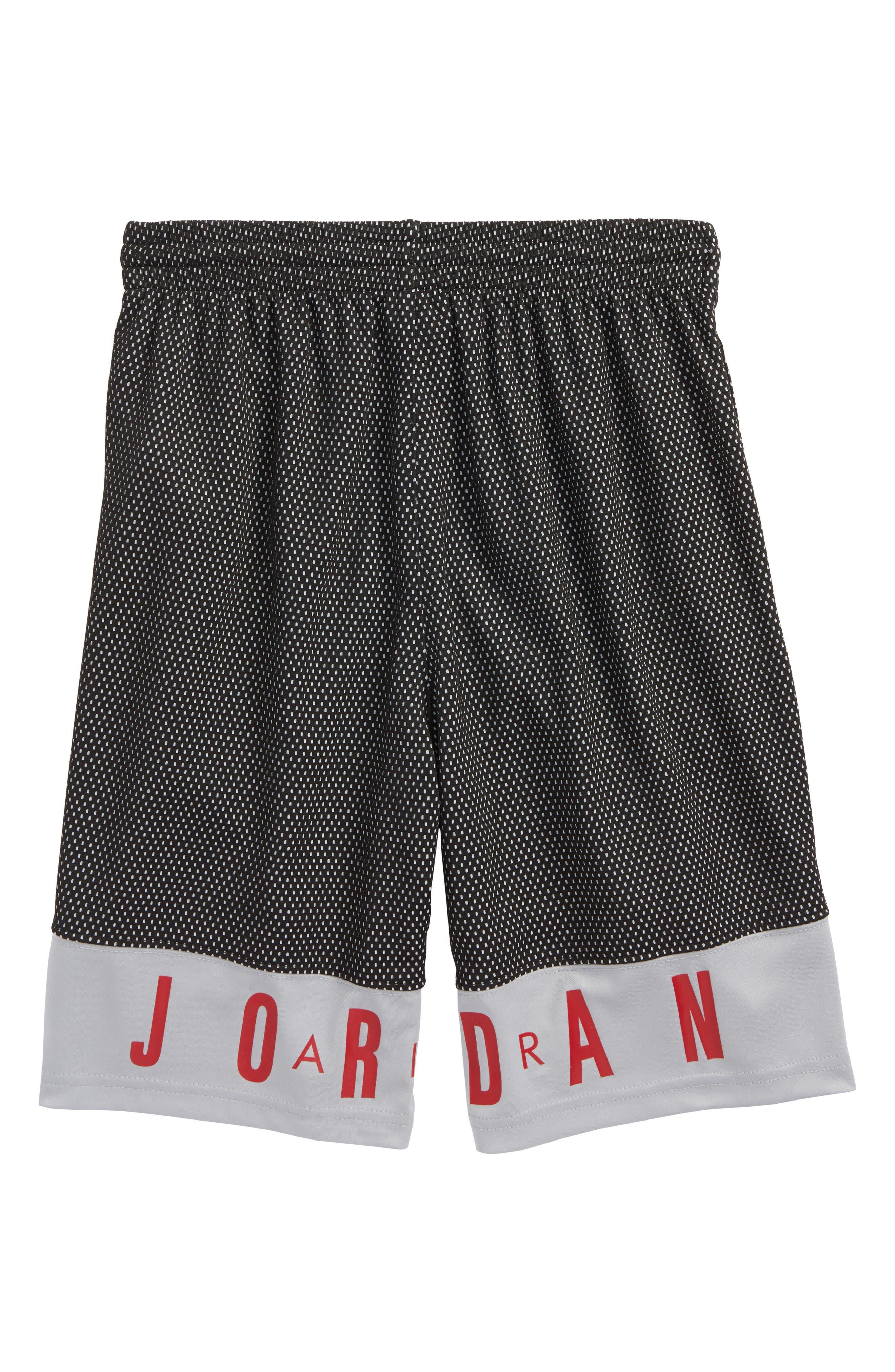 Alternate Image 2  - Jordan AJ 90s D2 Mesh Shorts (Big Boys)