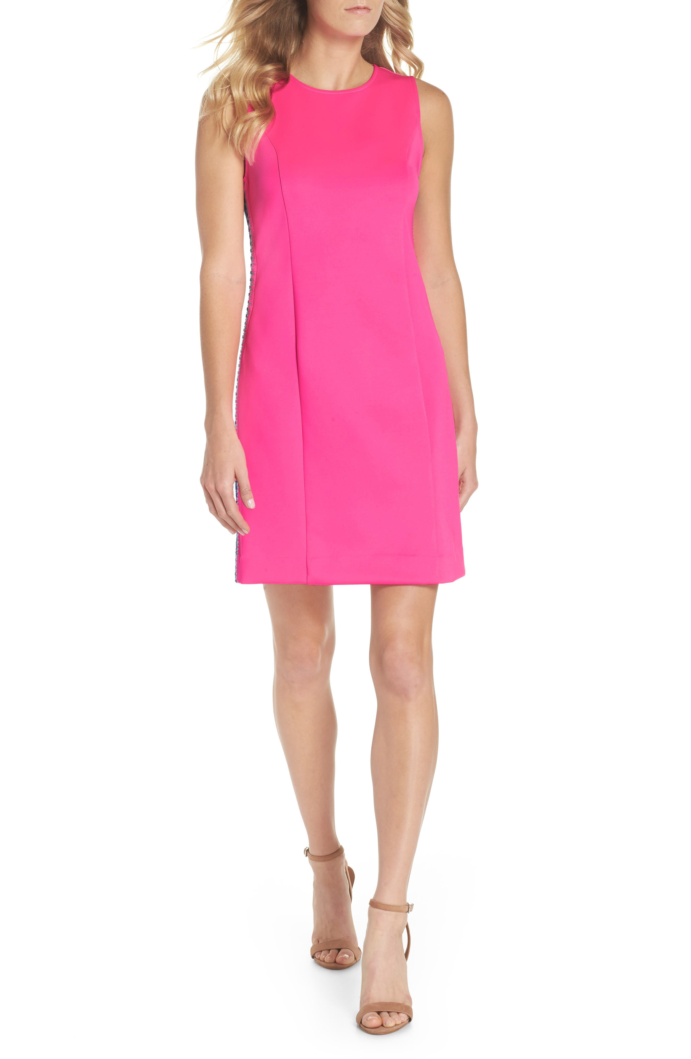 Mila Sheath Dress,                         Main,                         color, Raz Berry