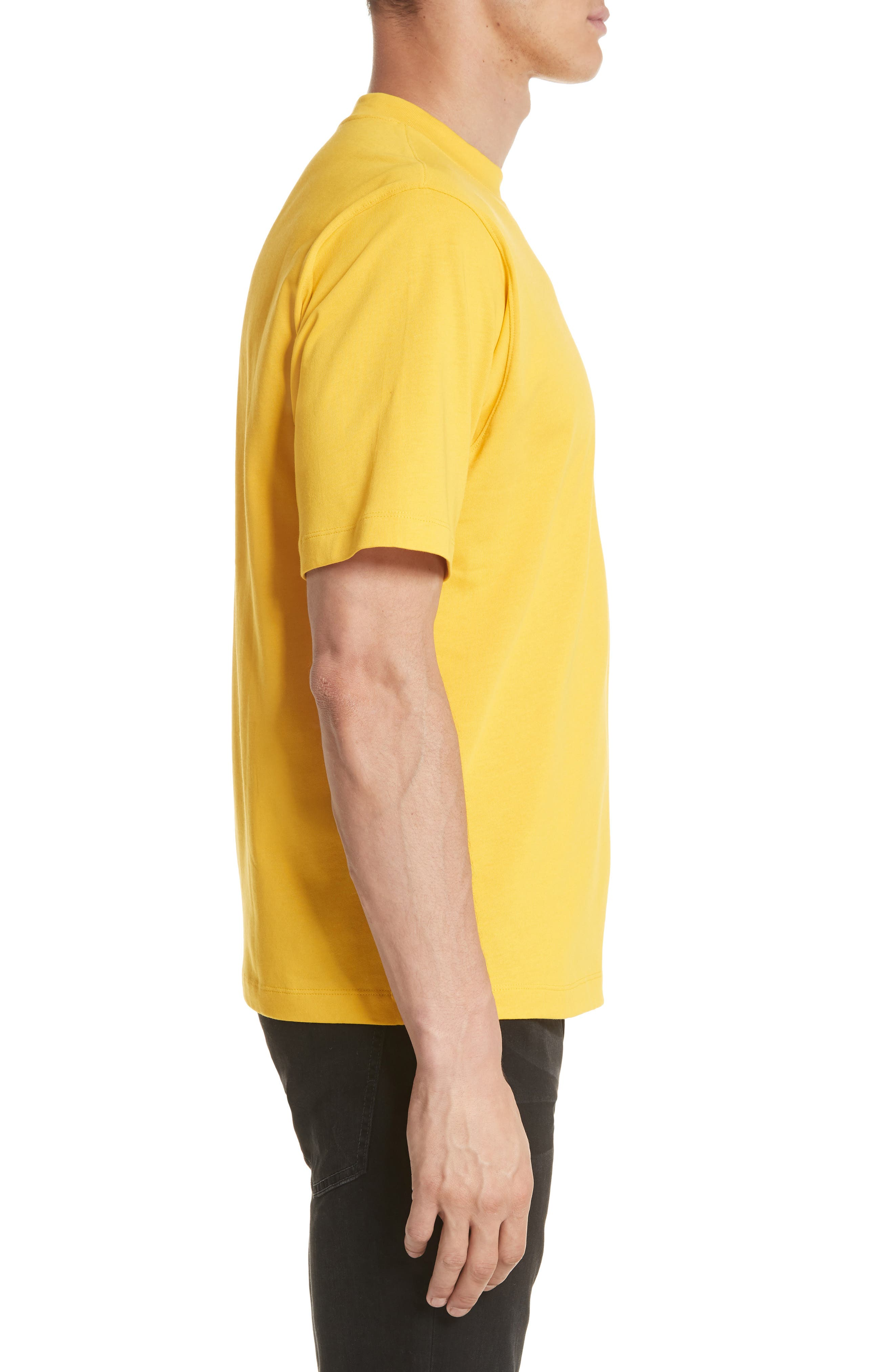 Tall T-Shirt,                             Alternate thumbnail 3, color,                             Yellow