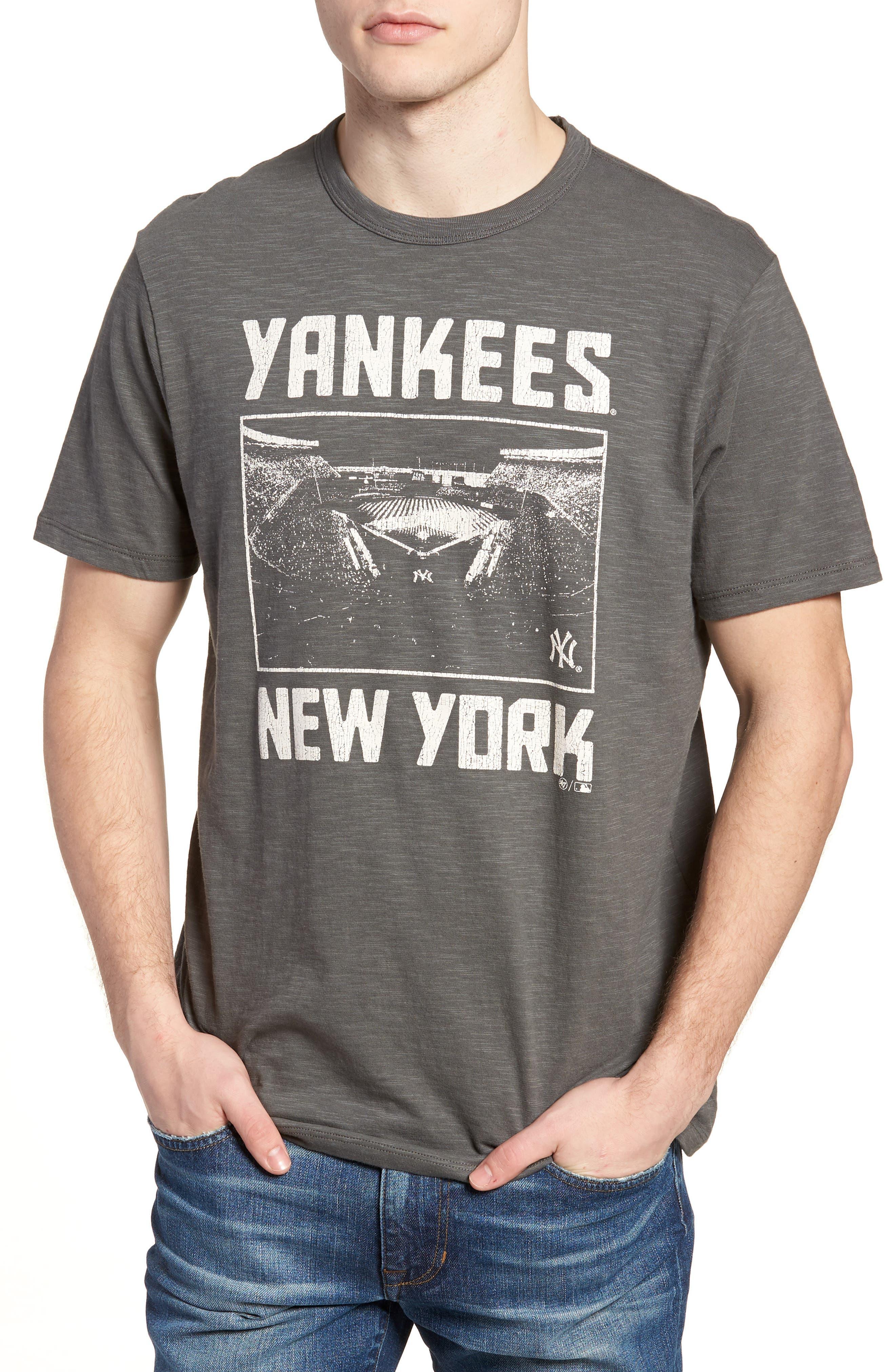 MLB Overdrive Scrum New York Yankees T-Shirt,                             Main thumbnail 1, color,                             Submarine