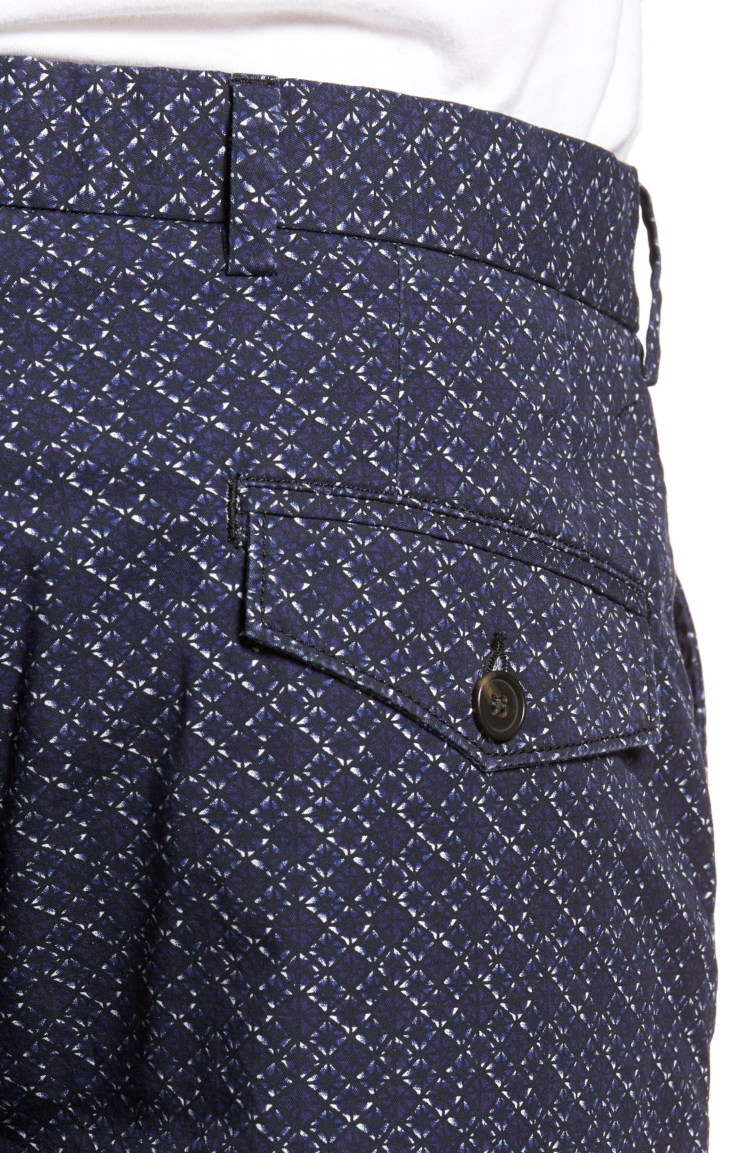 Kast Tile Shorts,                             Alternate thumbnail 4, color,                             Deep Cobalt
