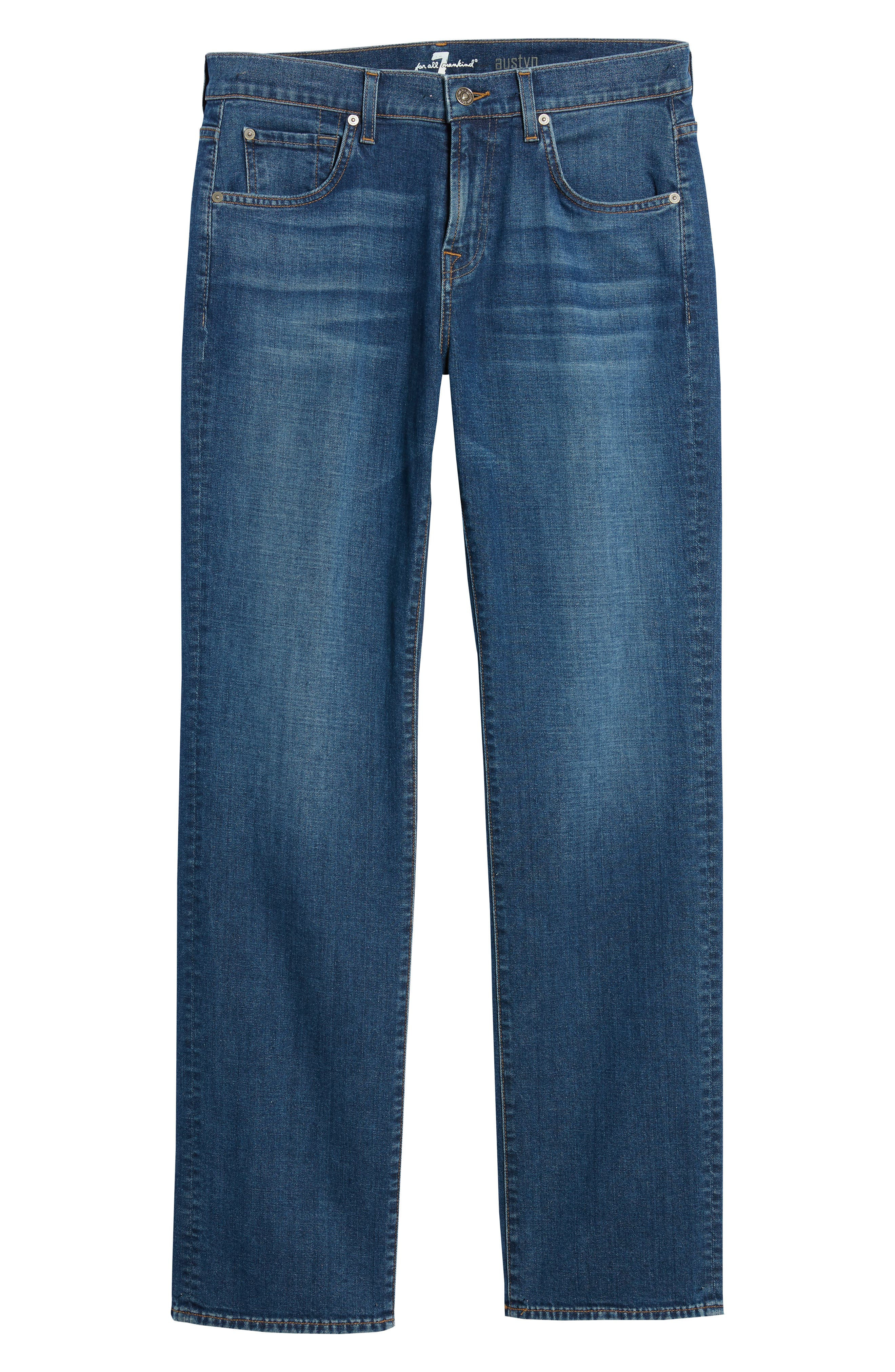 Austyn Relaxed Fit Jeans,                             Alternate thumbnail 6, color,                             Oasis