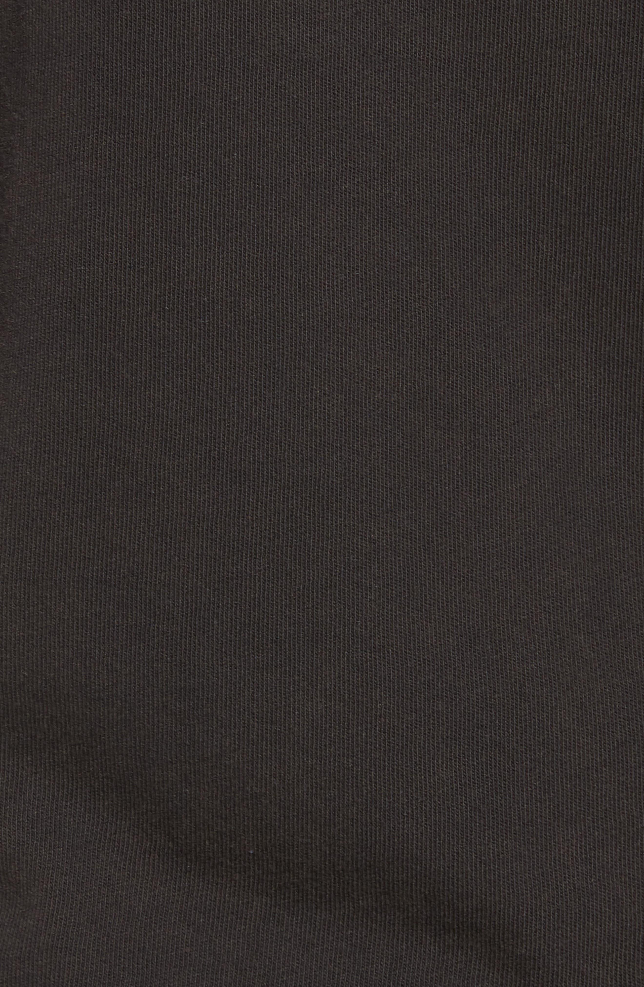 John Varvatos x Nick Jonas Rock City Graphic T-Shirt,                             Alternate thumbnail 6, color,                             Black