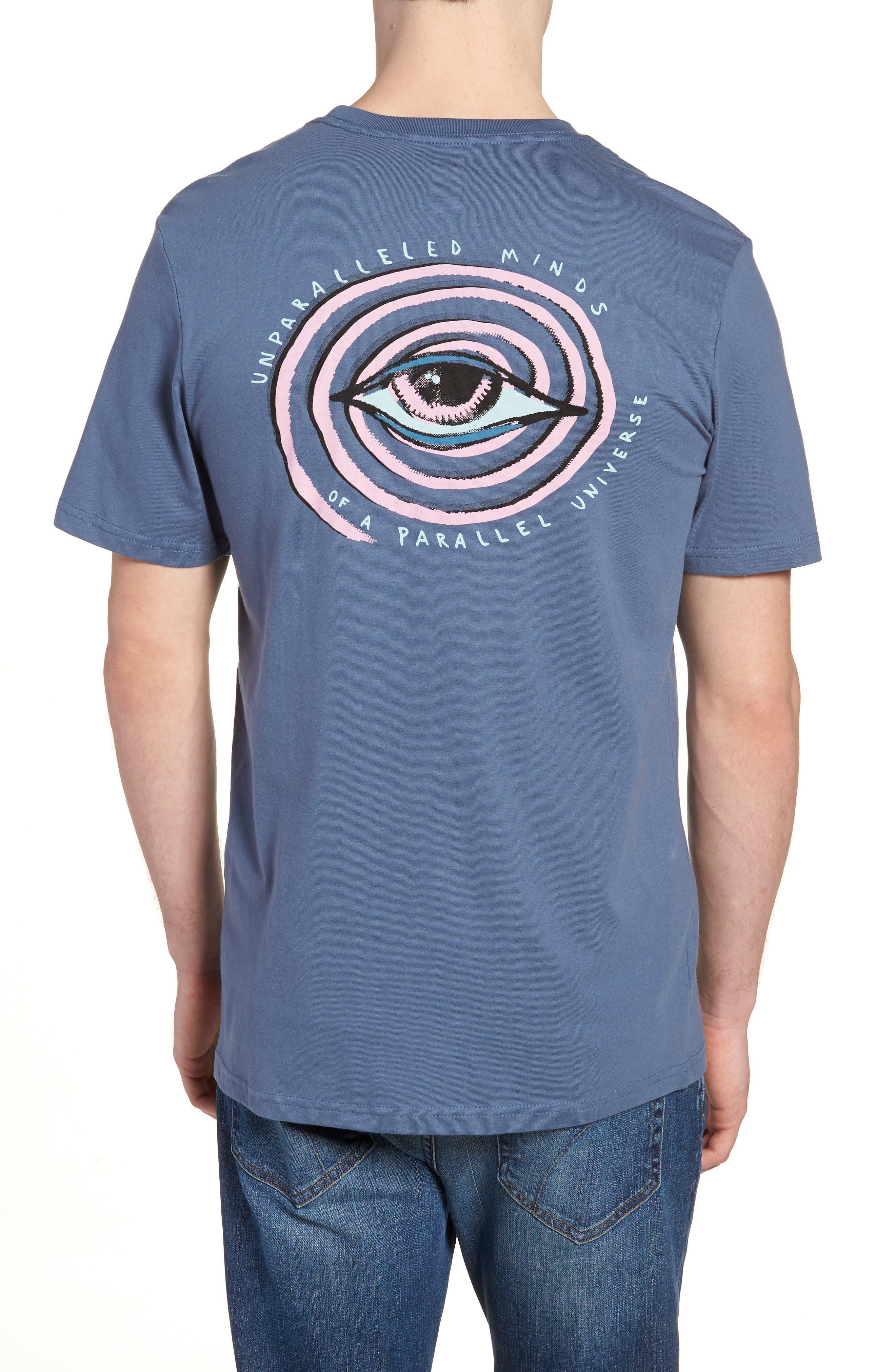 Burch Eye Graphic T-Shirt,                             Alternate thumbnail 2, color,                             Deep Blue