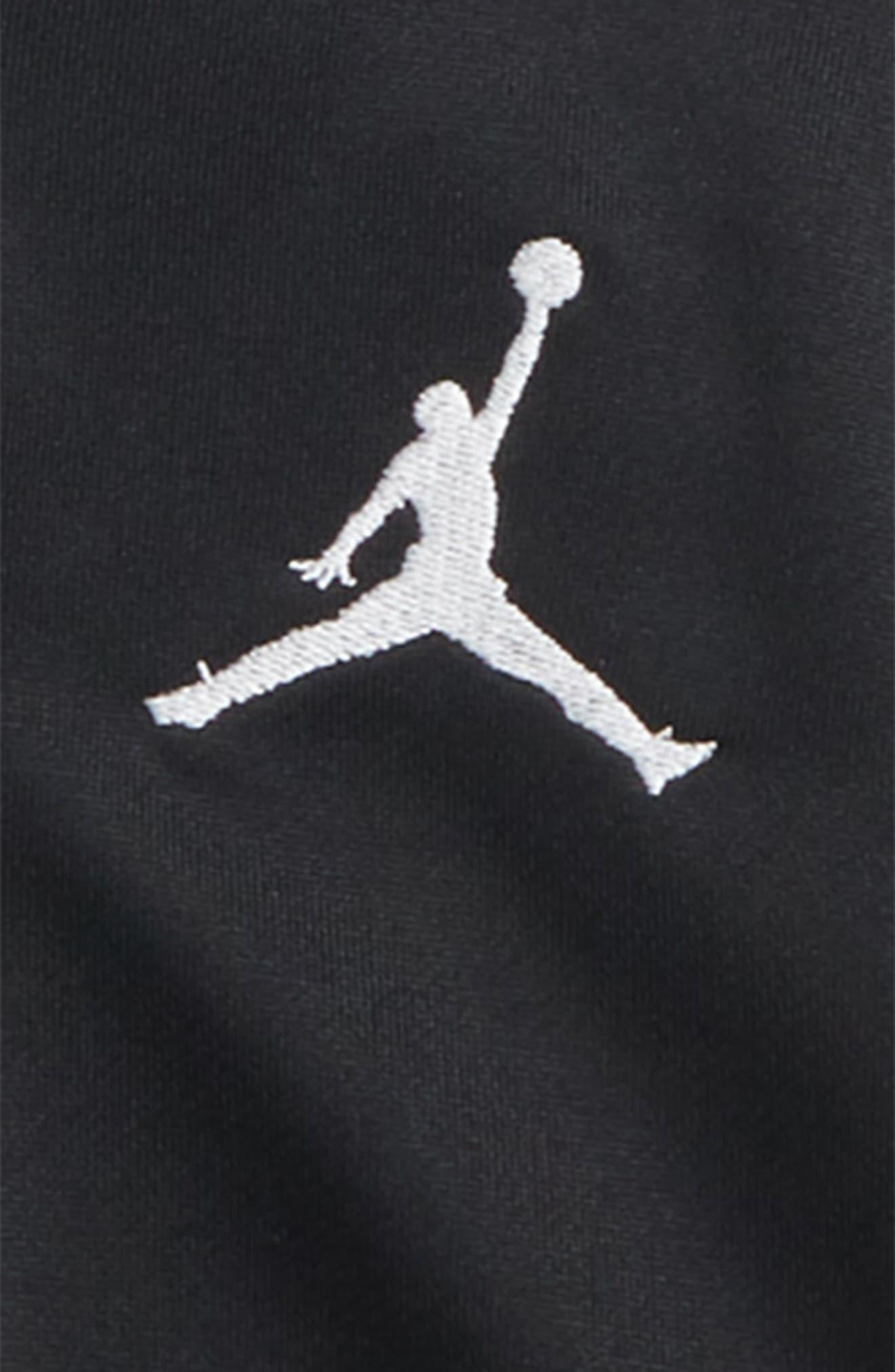 Jordan '90s Tricot Jacket,                             Alternate thumbnail 2, color,                             Black