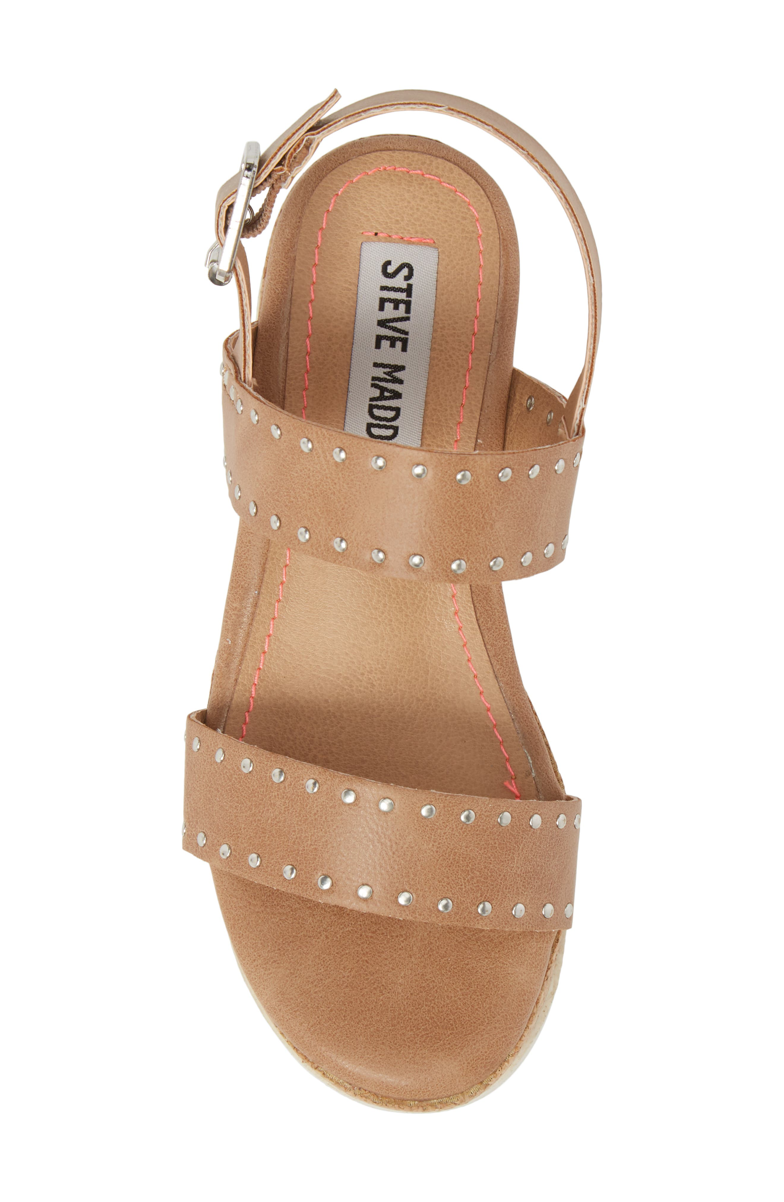 JKRISTIE Platform Sandal,                             Alternate thumbnail 5, color,                             Natural