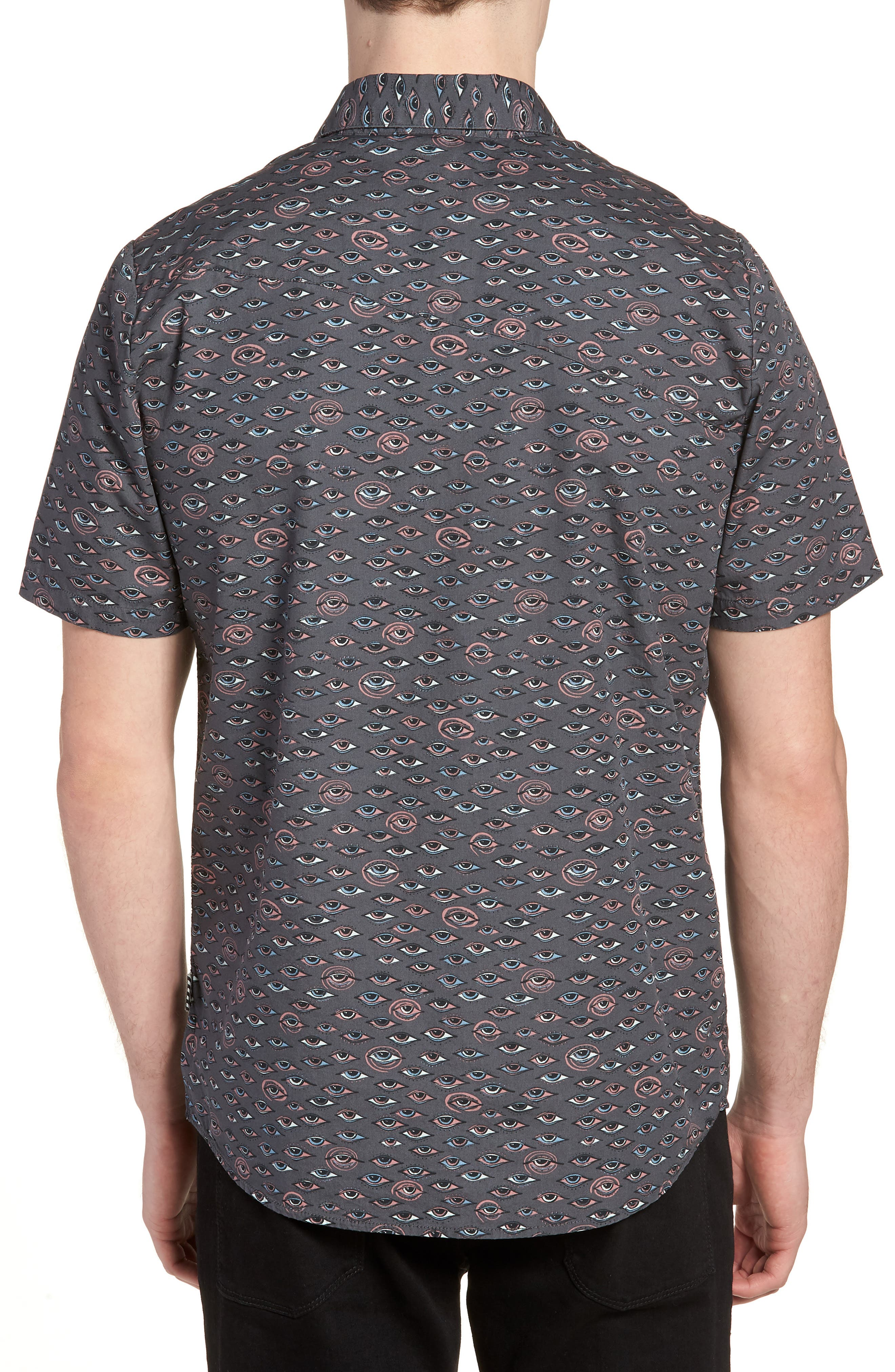 Alternate Image 2  - Volcom Burch Woven Shirt