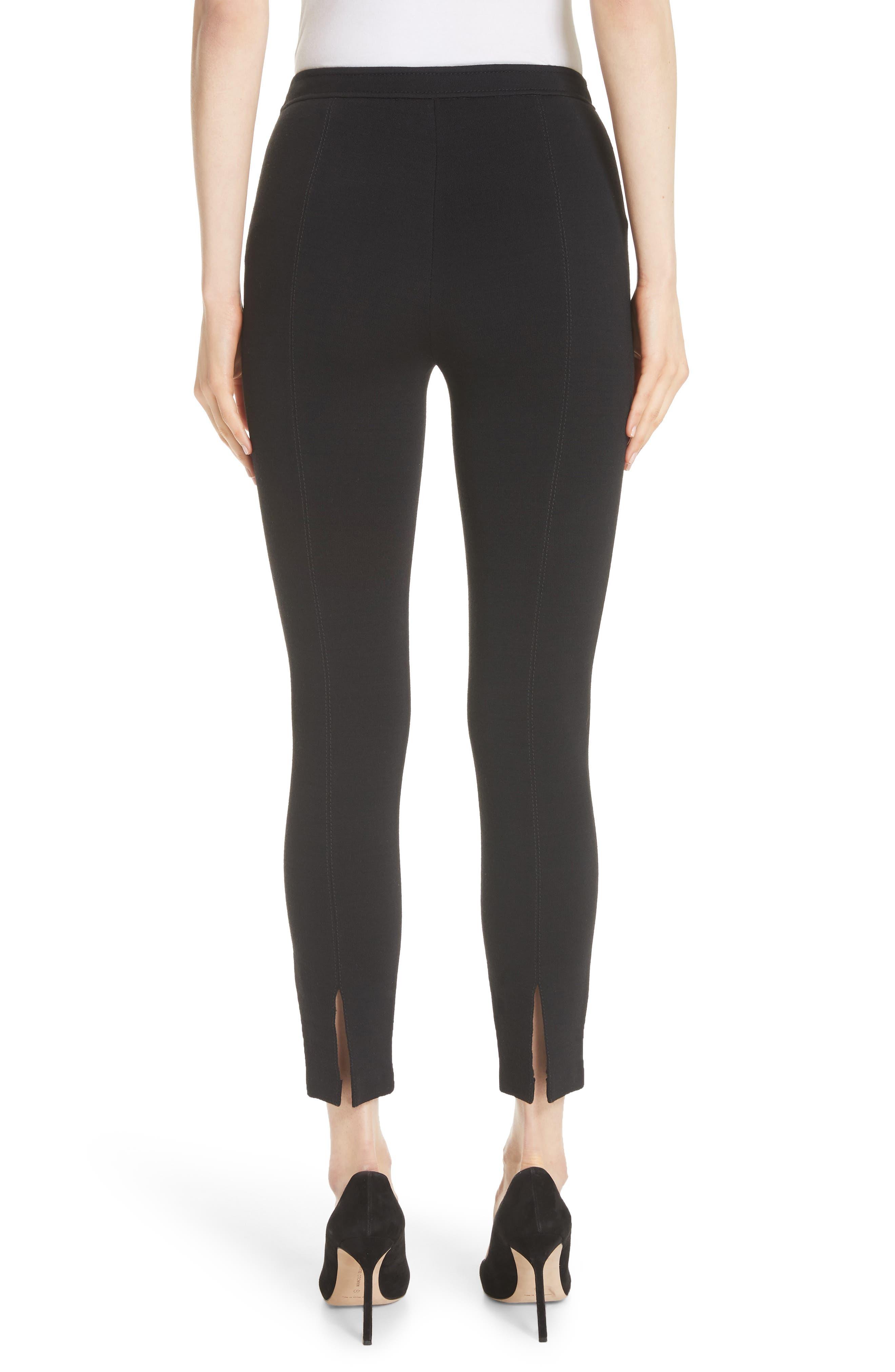 Alexa Milano Knit Pants,                             Alternate thumbnail 2, color,                             Caviar