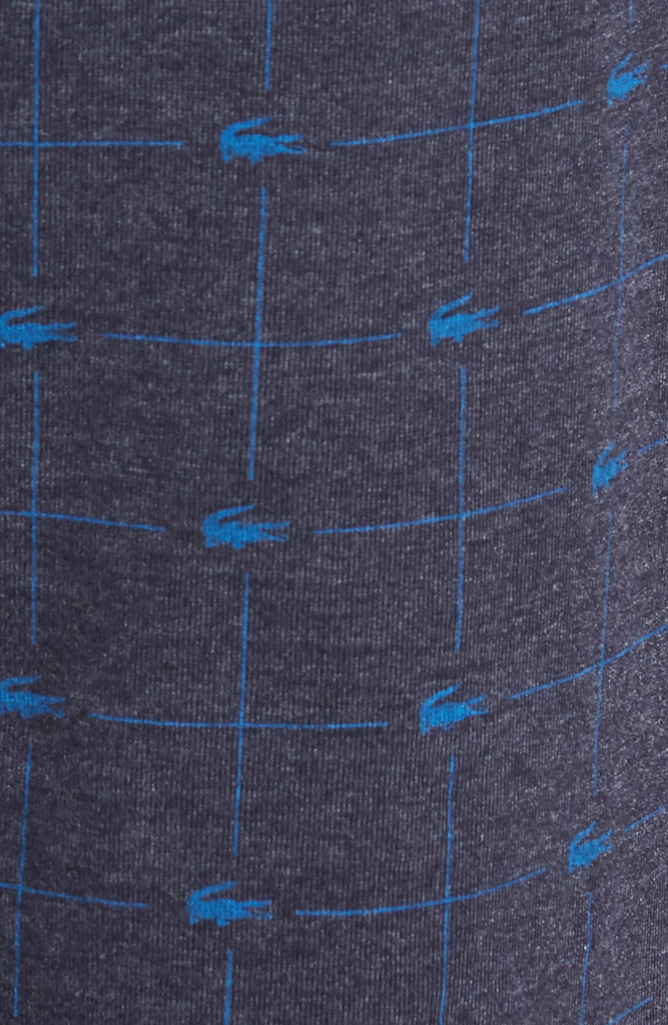 Print Lounge Pants,                             Alternate thumbnail 5, color,                             Classic Blue