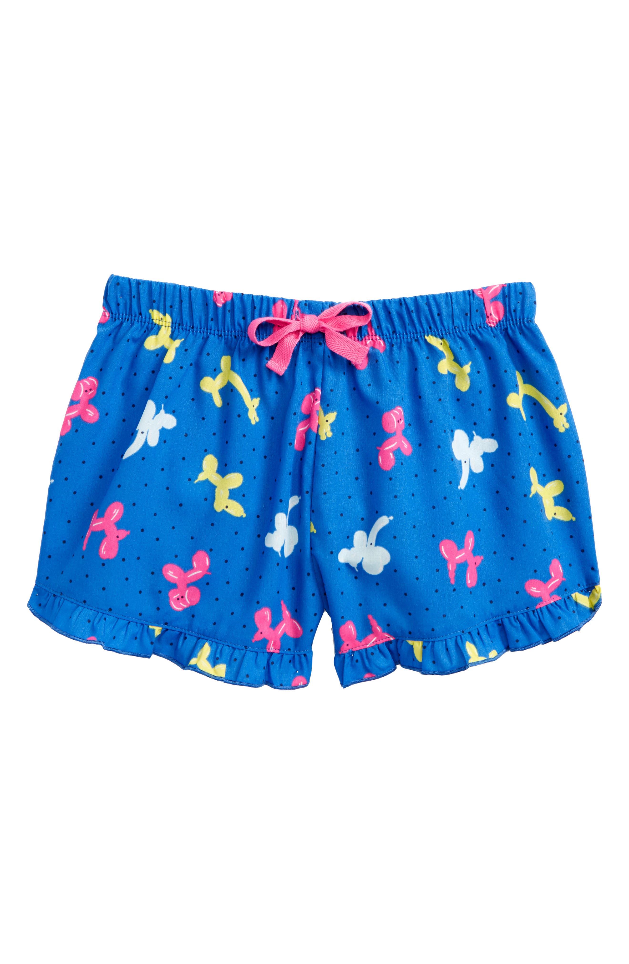 Tucker + Tate Ruffle Pajama Shorts (Big Girls)