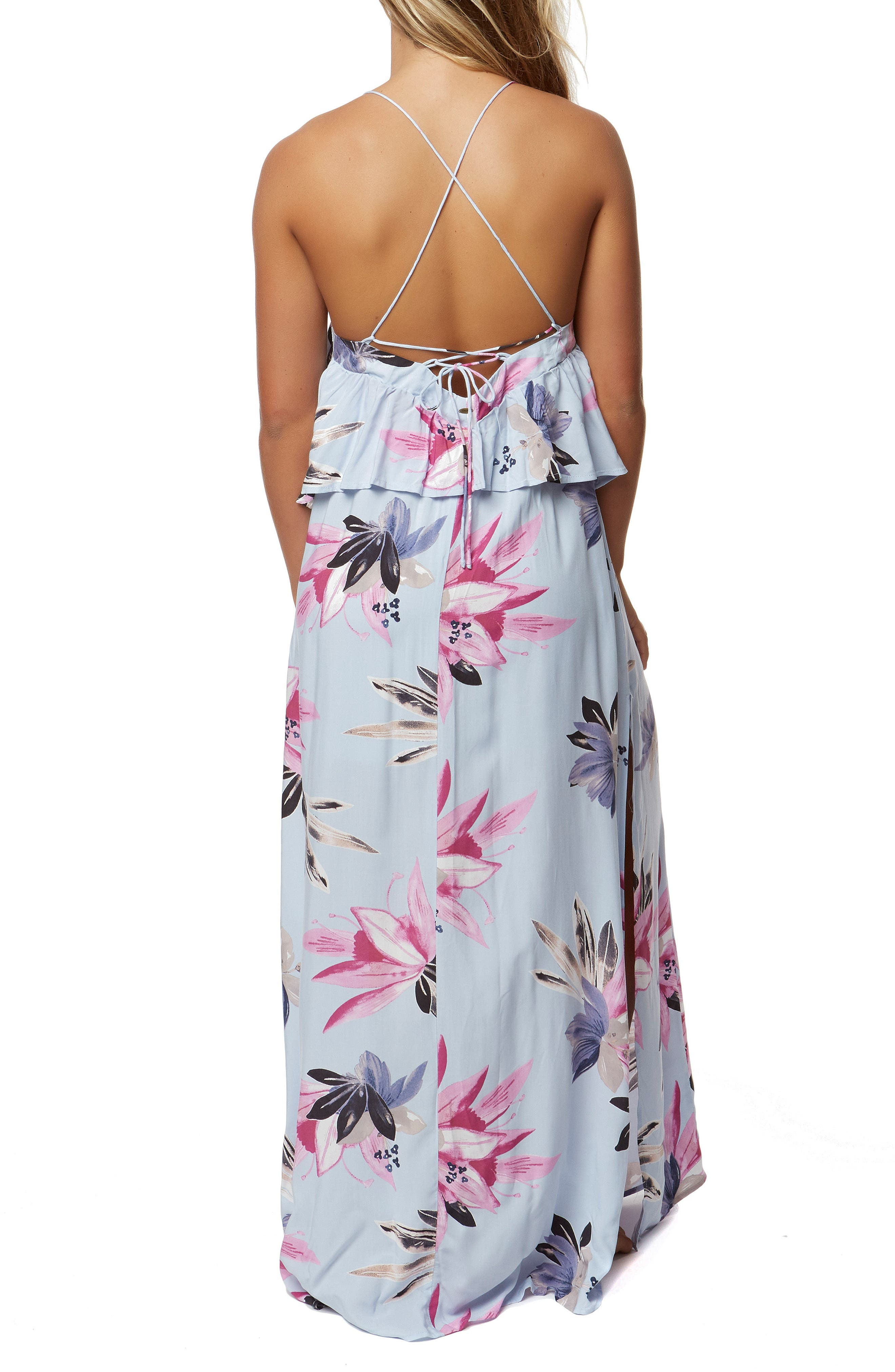 Milly Maxi Dress,                             Alternate thumbnail 2, color,                             Horizon