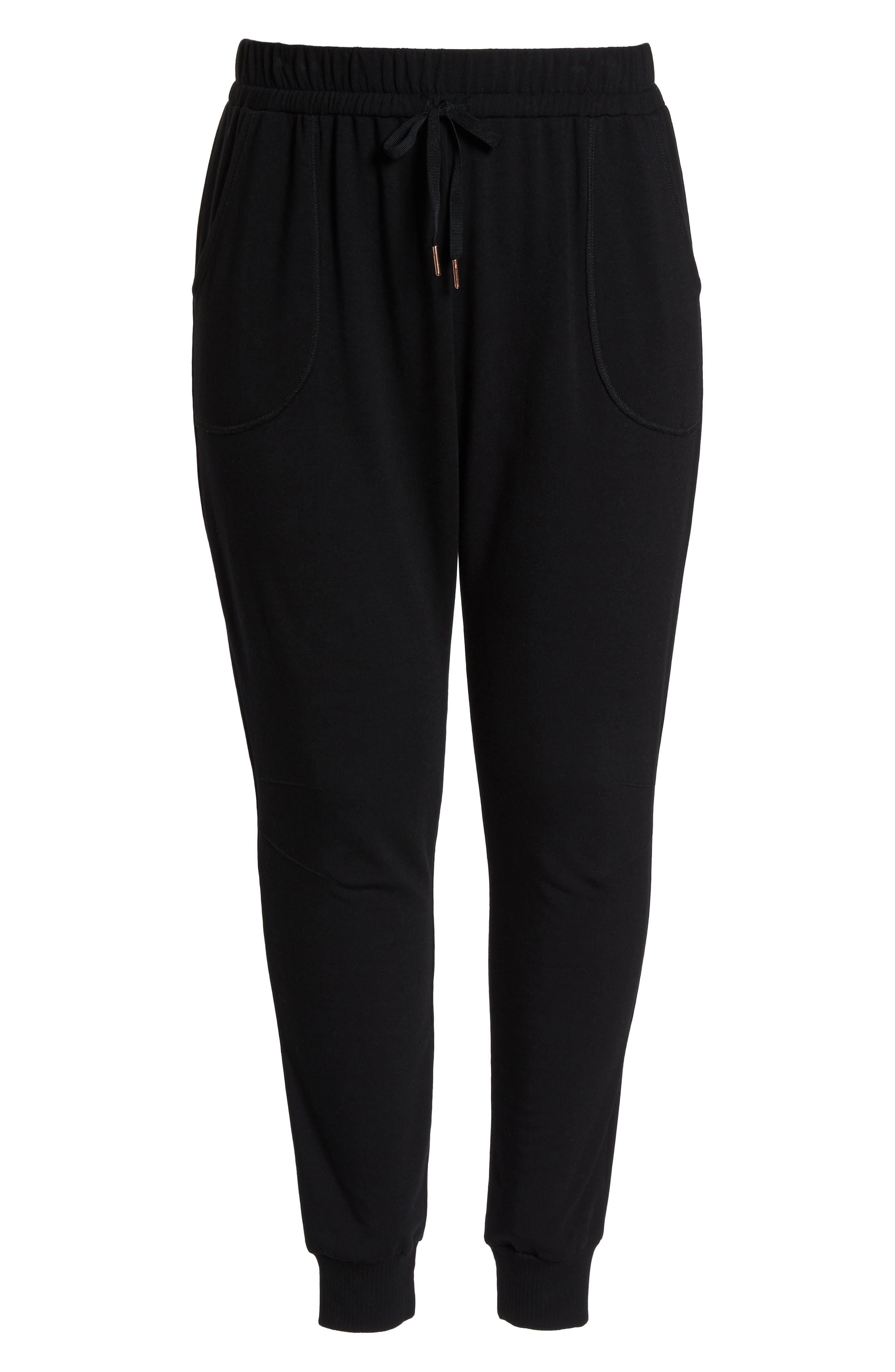 Off-Duty Stretch Jogger,                             Alternate thumbnail 7, color,                             Black