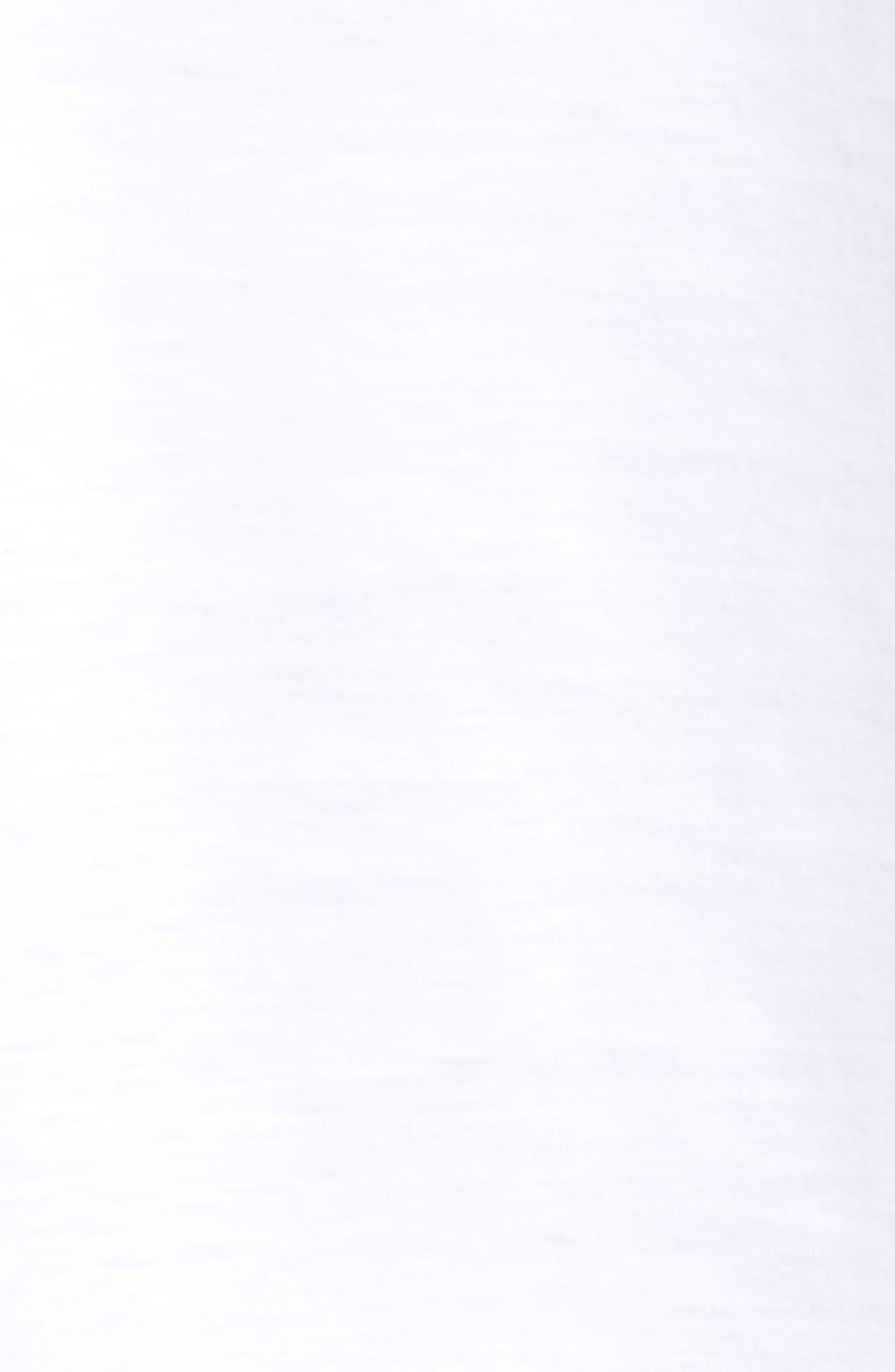Tessler Crewneck T-Shirt,                             Alternate thumbnail 5, color,                             White
