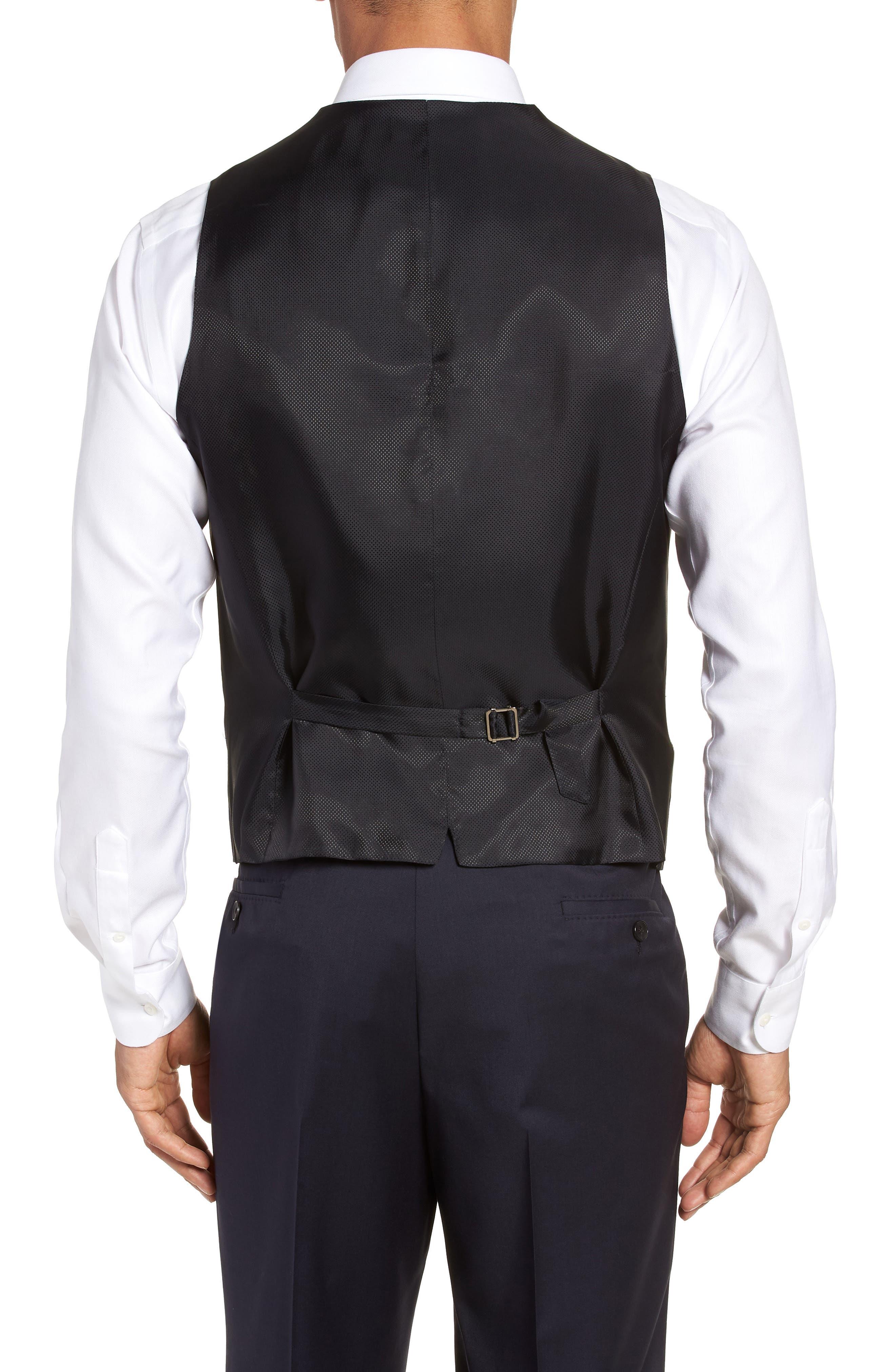 Wilson CYL Trim Fit Vest,                             Alternate thumbnail 2, color,                             Dark Blue