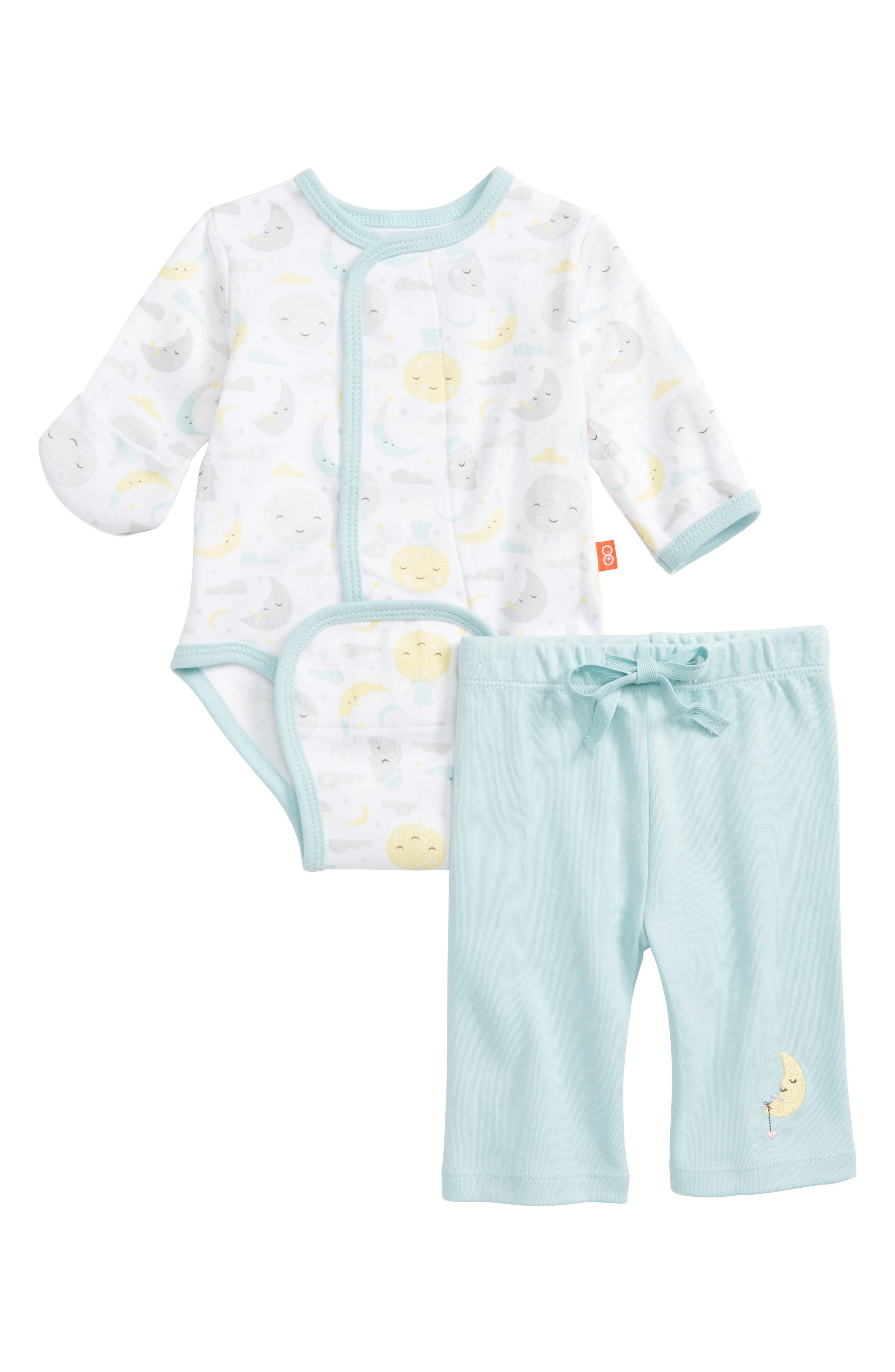 Magnetic Me To the Mood Bodysuit & Pants Set (Baby Boys)
