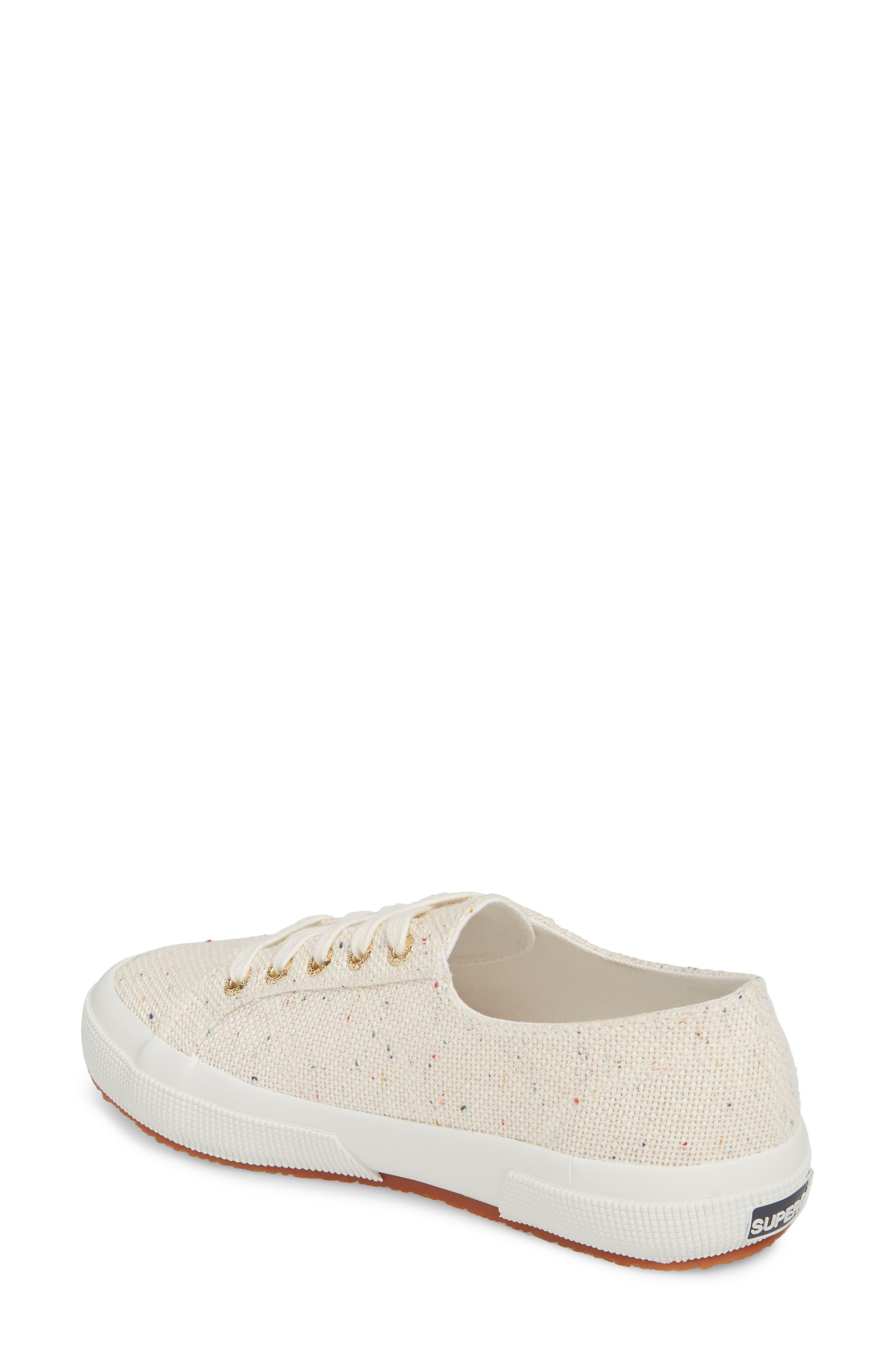 2750 Speckle Low Top Sneaker,                             Alternate thumbnail 2, color,                             White Multi