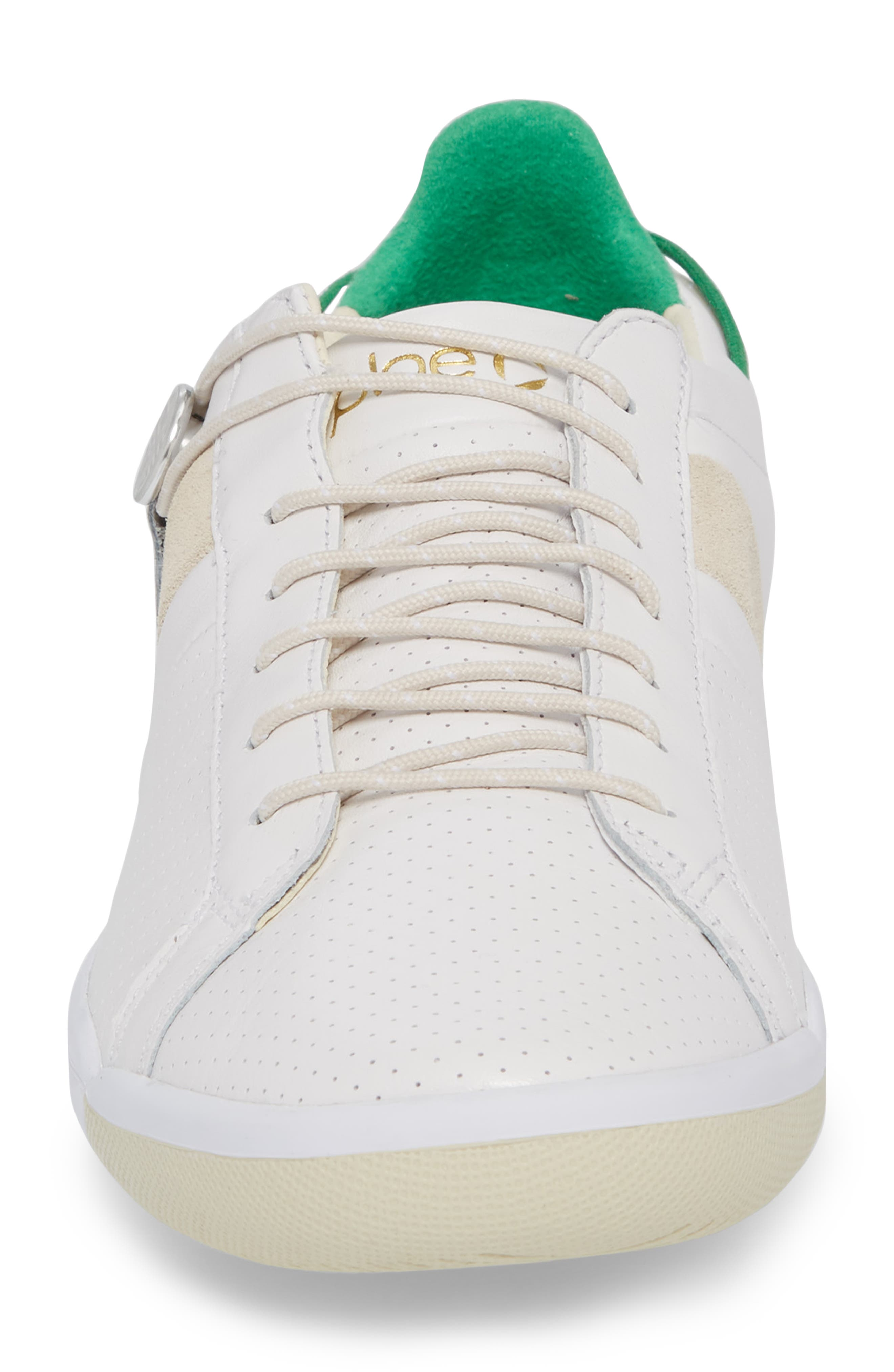 Mulberry Low Top Sneaker,                             Alternate thumbnail 4, color,                             White