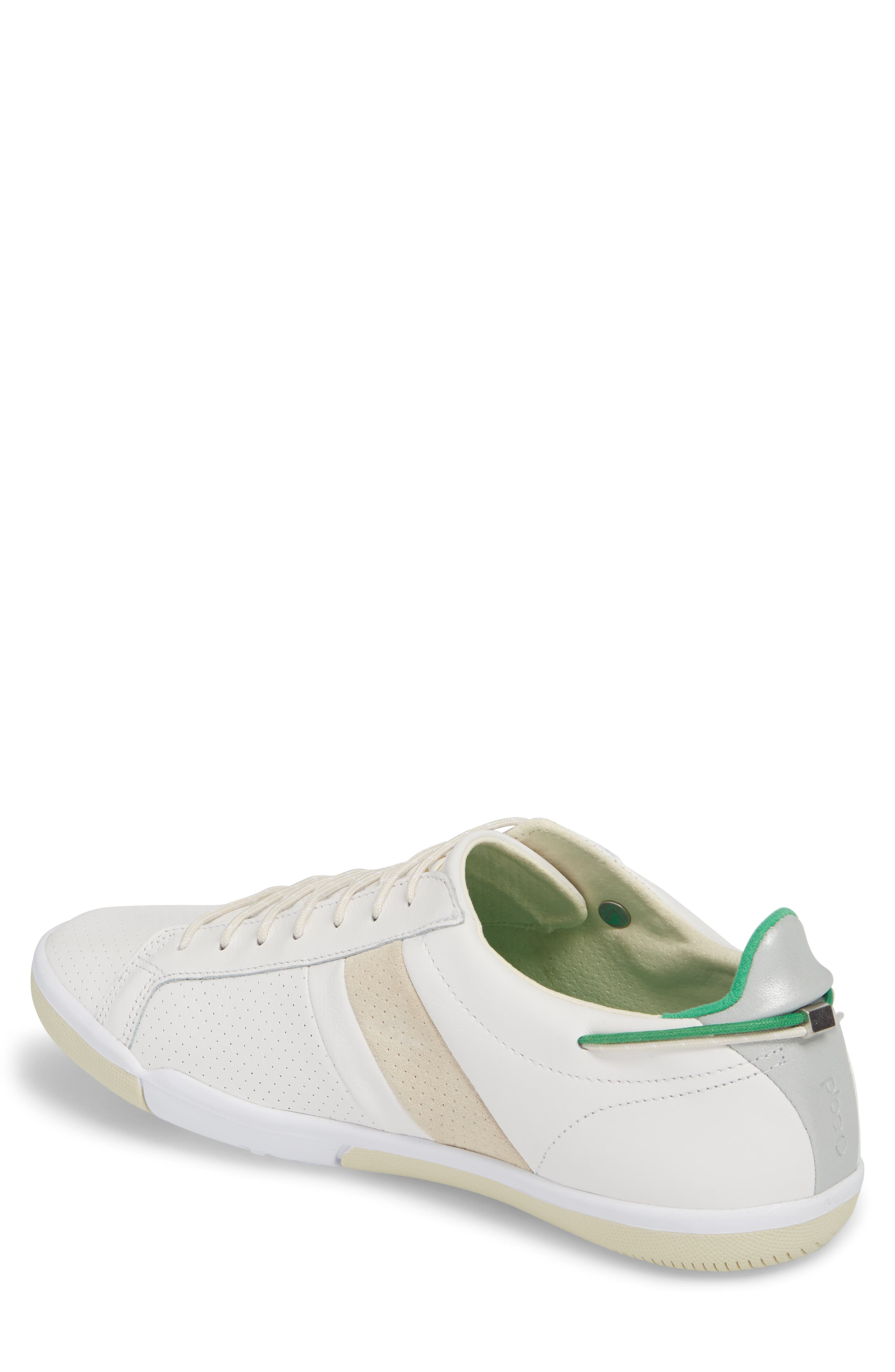 Mulberry Low Top Sneaker,                             Alternate thumbnail 2, color,                             White