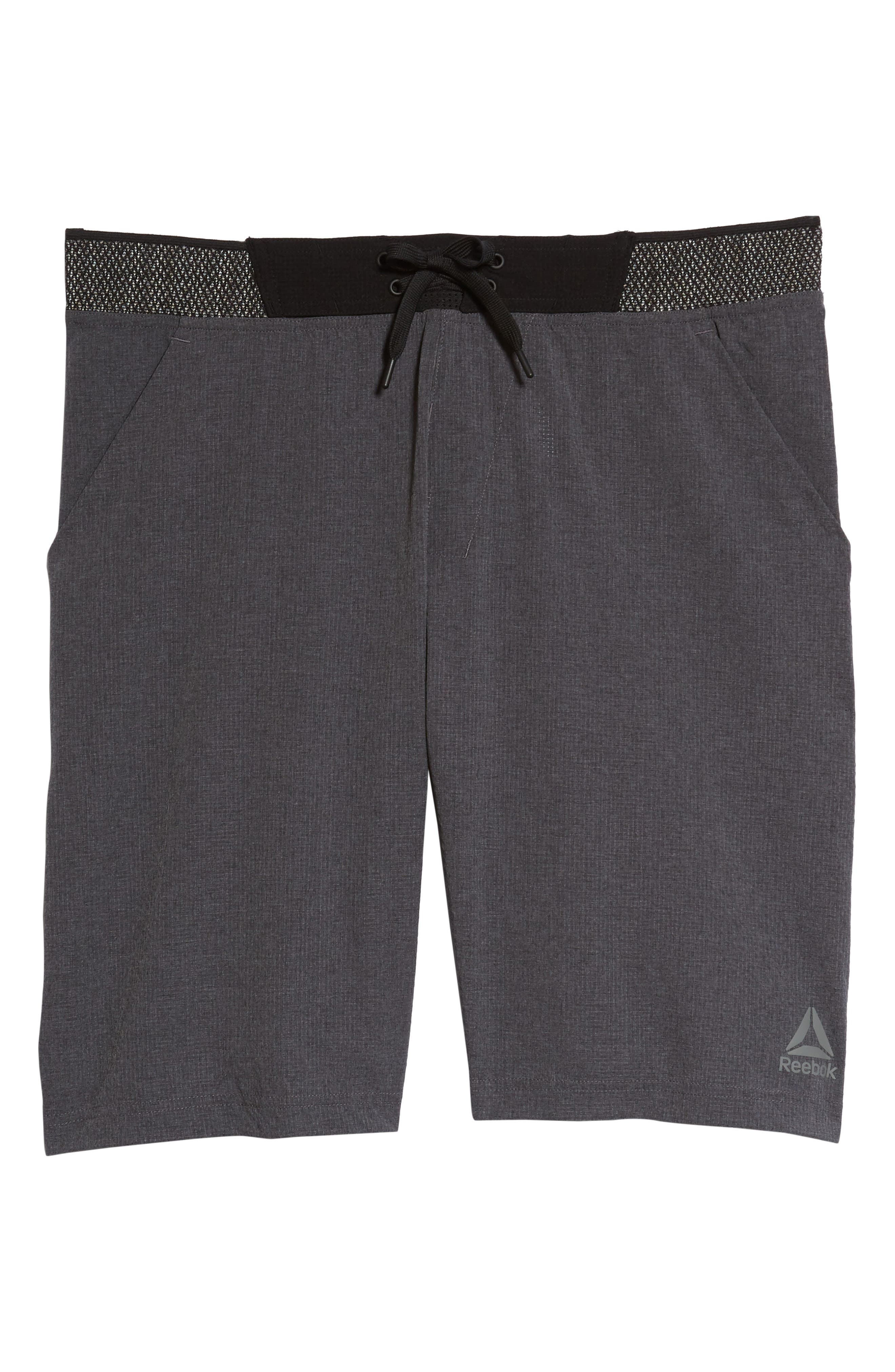 Epic Knit Shorts,                             Alternate thumbnail 6, color,                             Dark Grey Heather