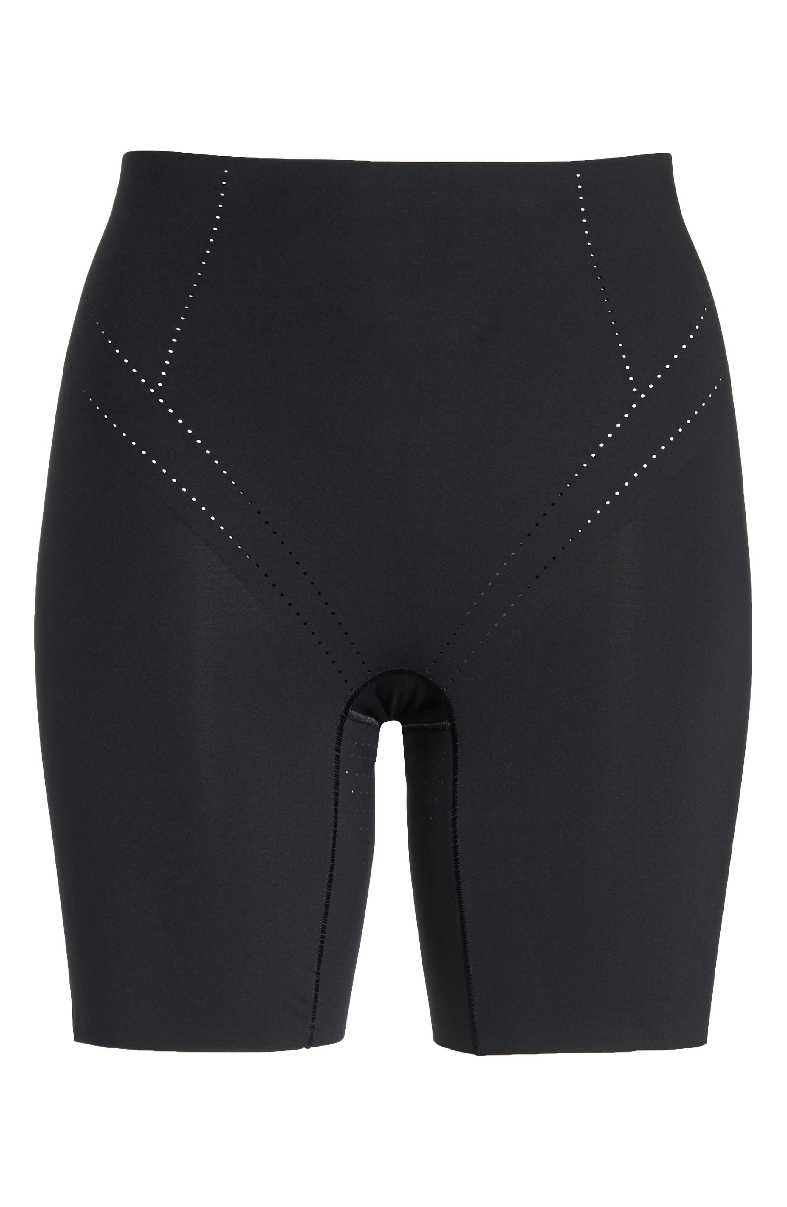 Shape Air Shaper Shorts,                             Alternate thumbnail 4, color,                             Black