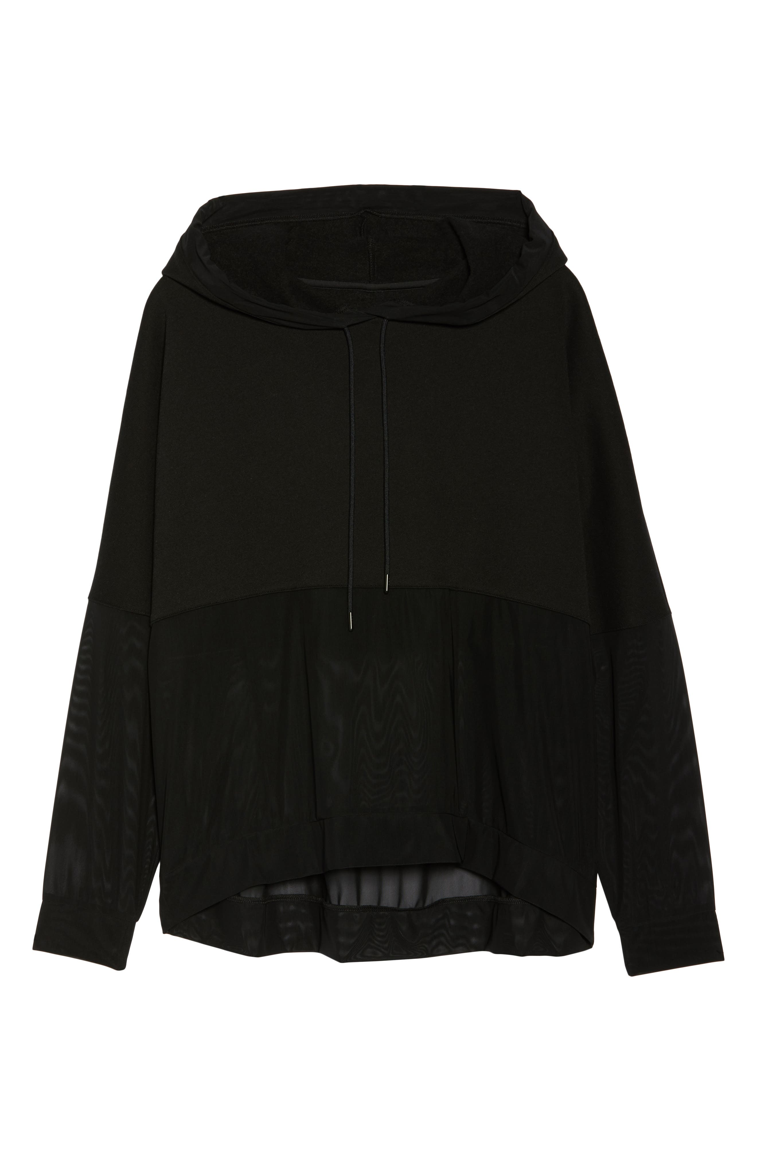 Perspective Hoodie,                             Alternate thumbnail 7, color,                             Black