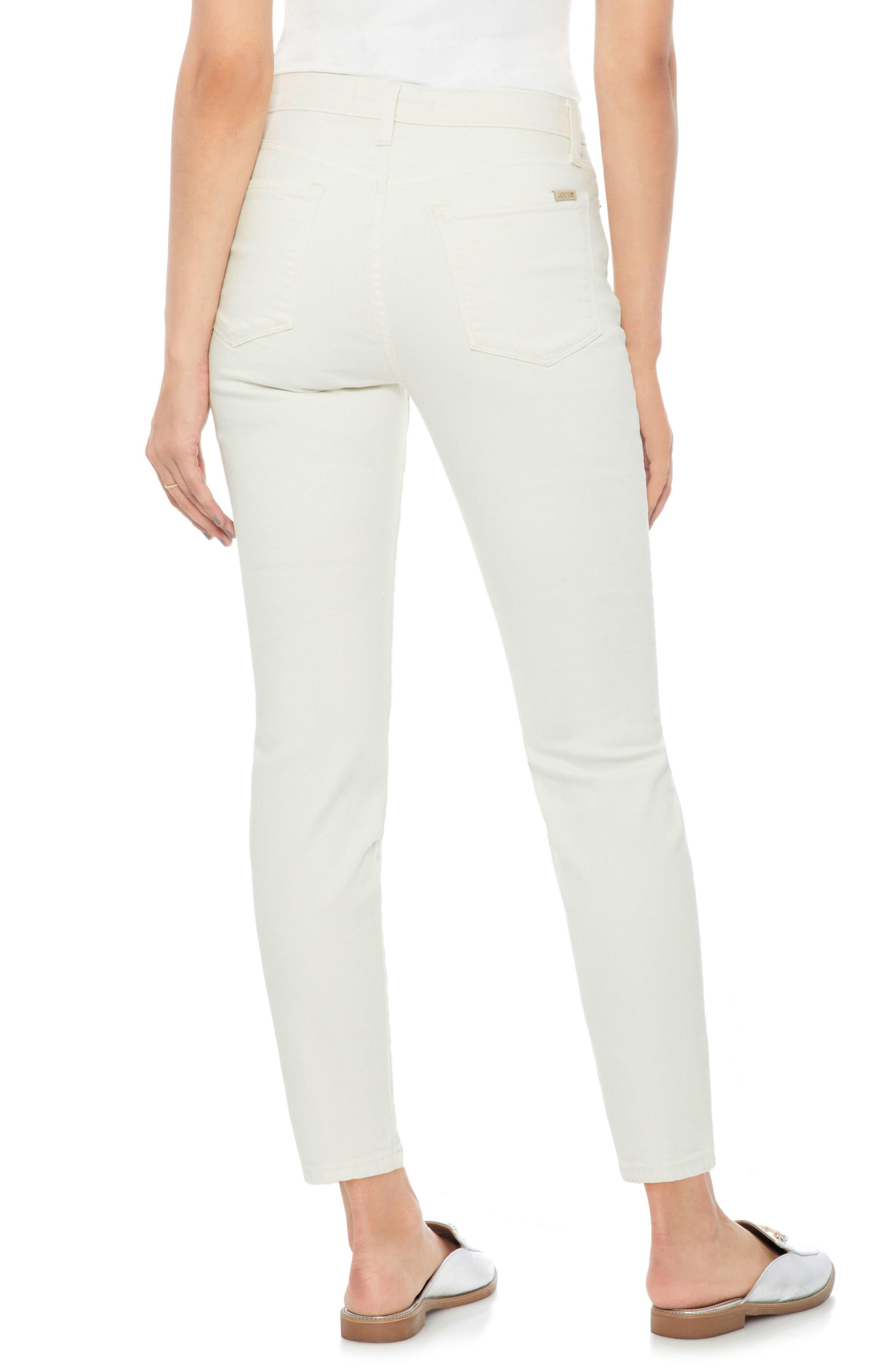 Smith High Waist Ankle Slim Jeans,                             Alternate thumbnail 2, color,                             Layton