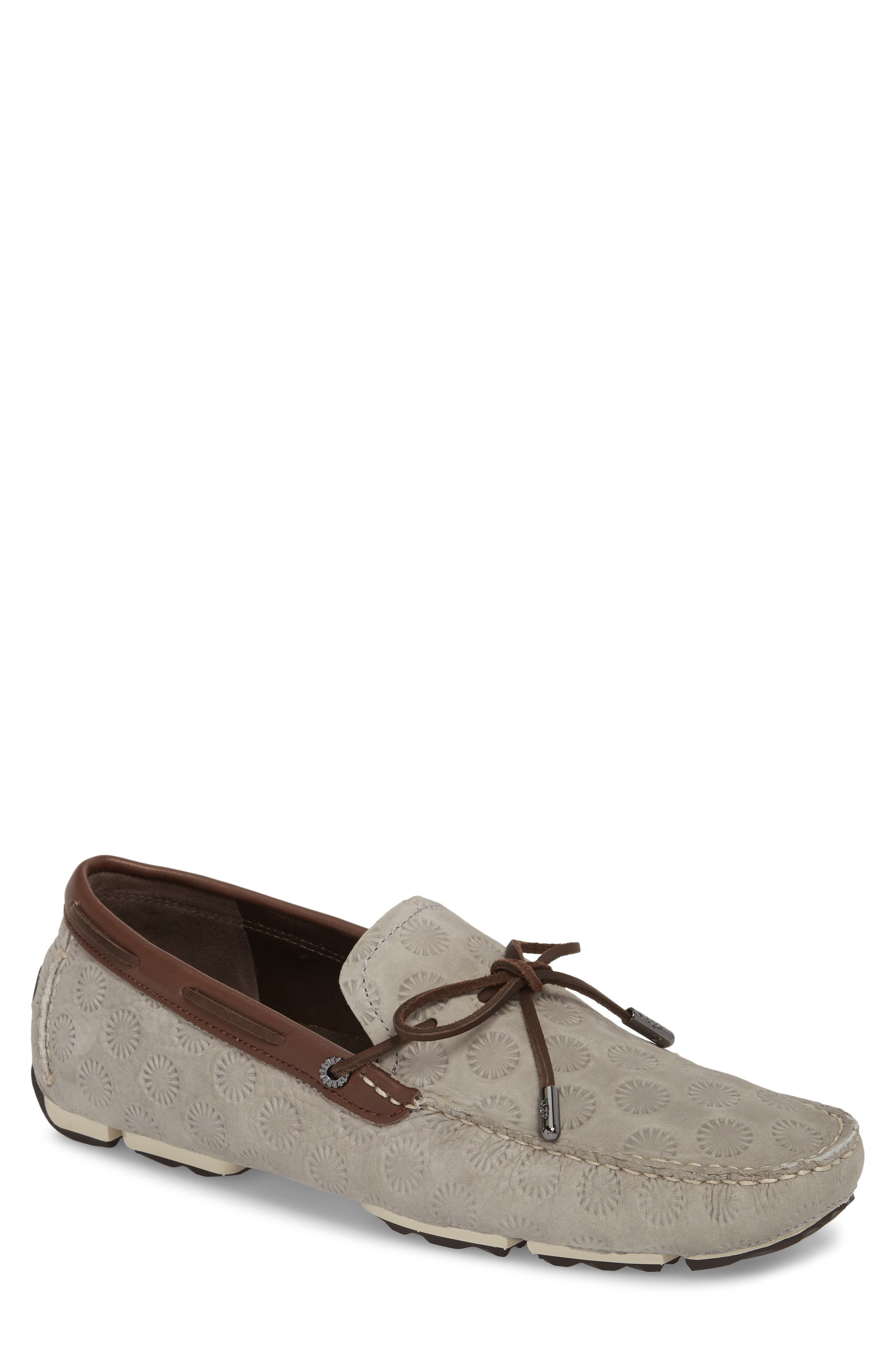 Bel Air Embossed Driving Moccasin,                         Main,                         color, Seal Leather