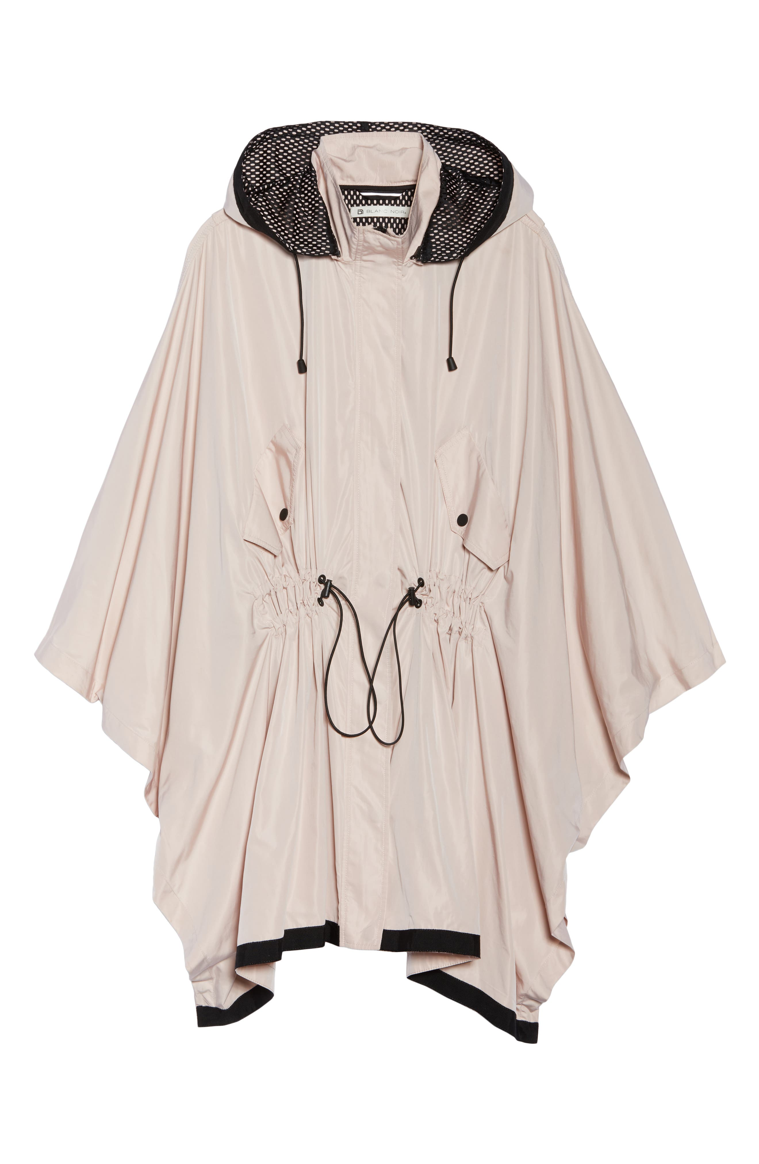 Stormie Poncho,                             Alternate thumbnail 7, color,                             Rose Grey/ Black