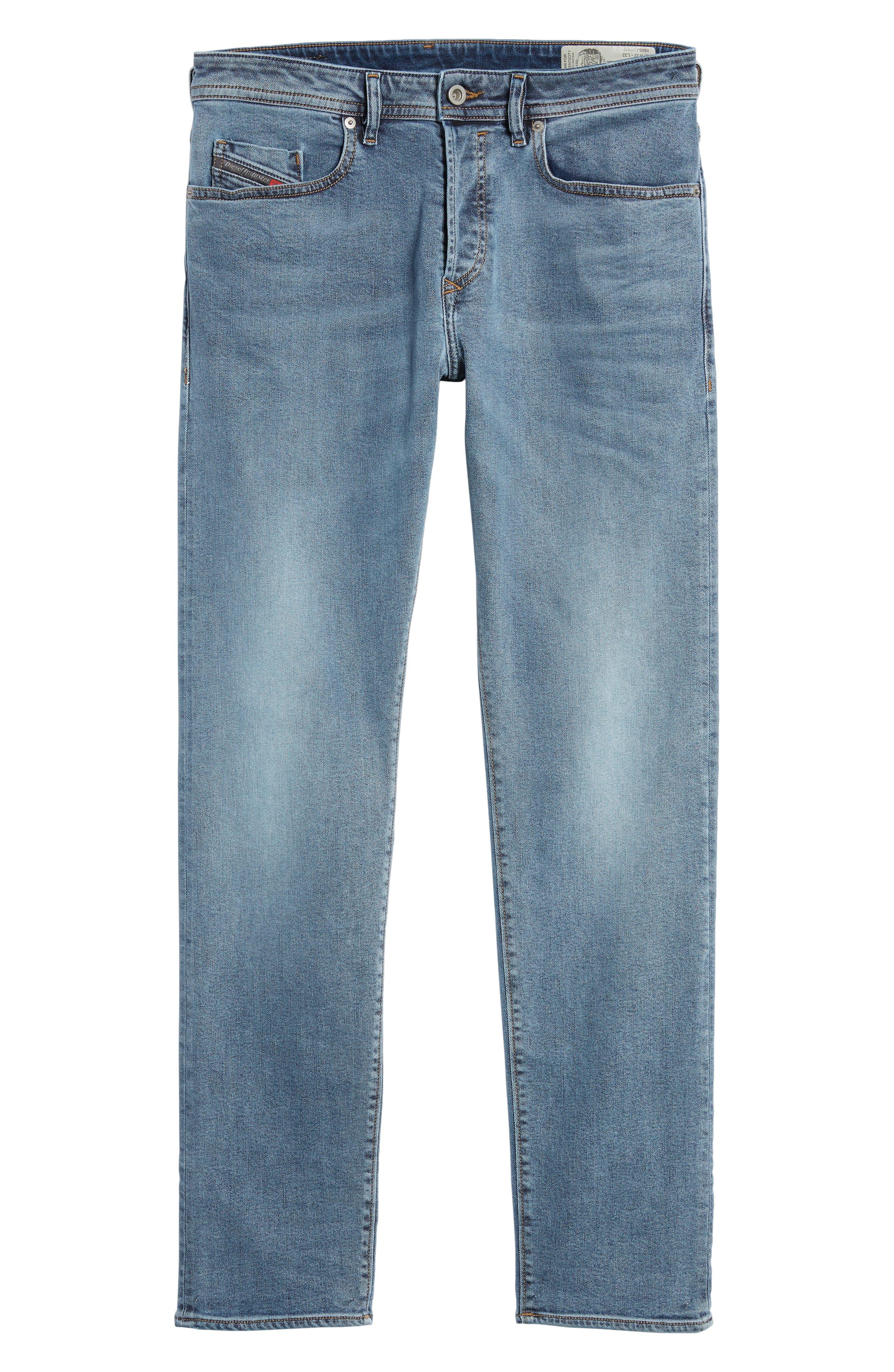 Buster Slim Straight Leg Jeans,                             Alternate thumbnail 6, color,                             084Sj
