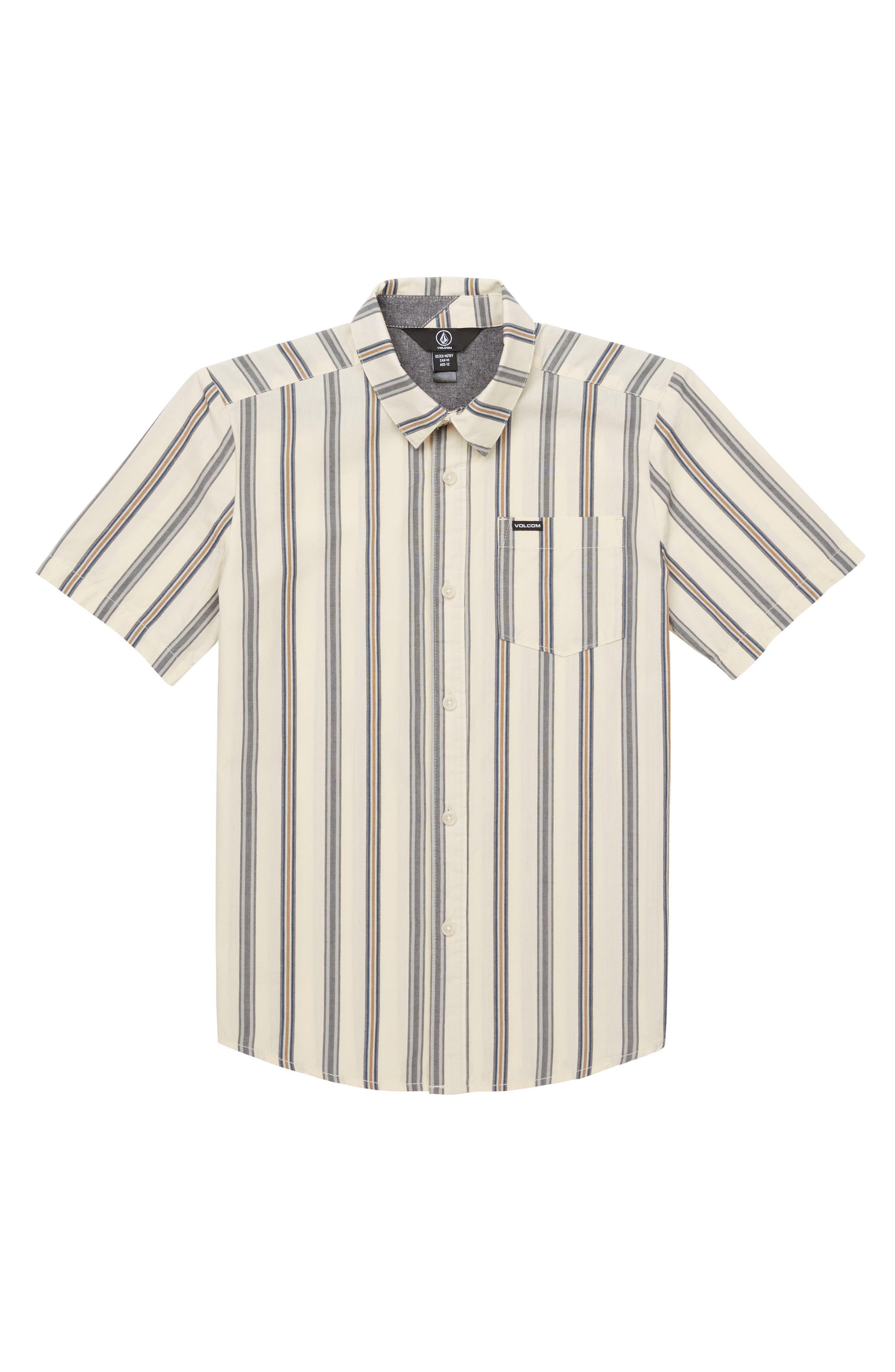 Mix Bag Woven Shirt,                             Main thumbnail 1, color,                             White