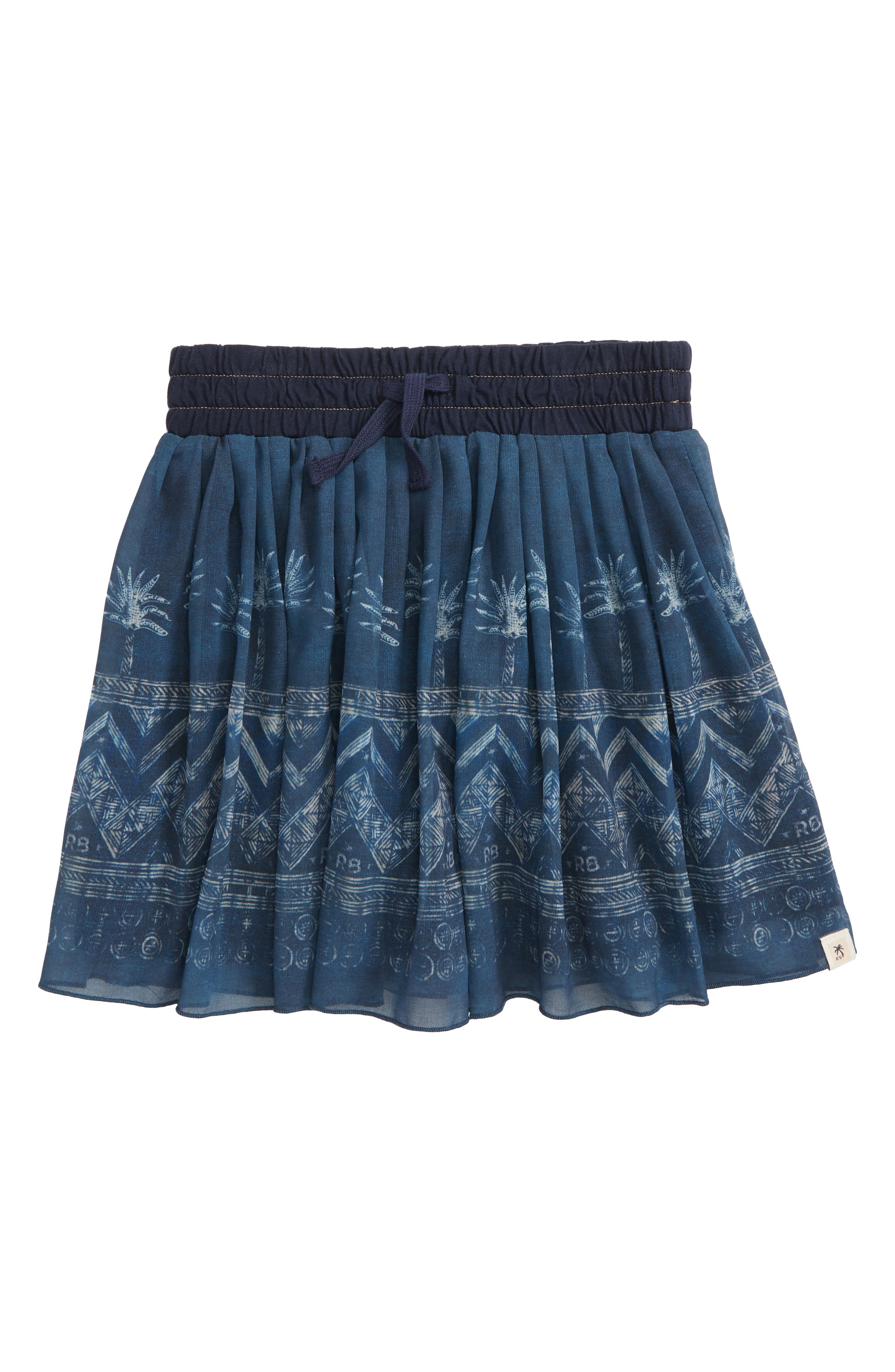 Scotch R'Belle Pleated Skirt,                         Main,                         color, Navy