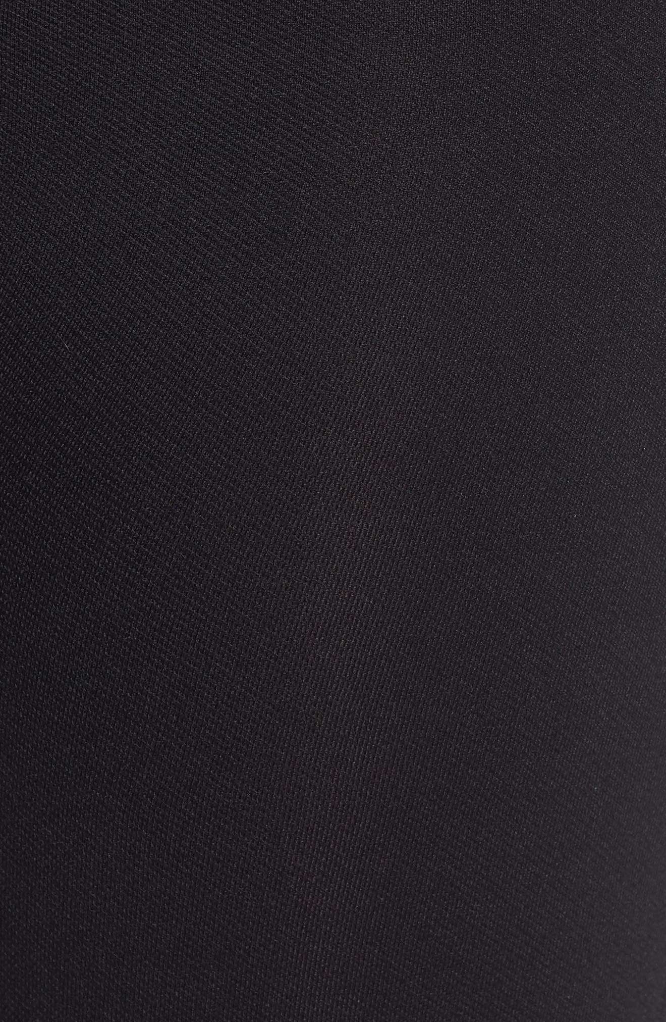 Look At Me Now Seamless Leggings,                             Alternate thumbnail 5, color,                             Very Black