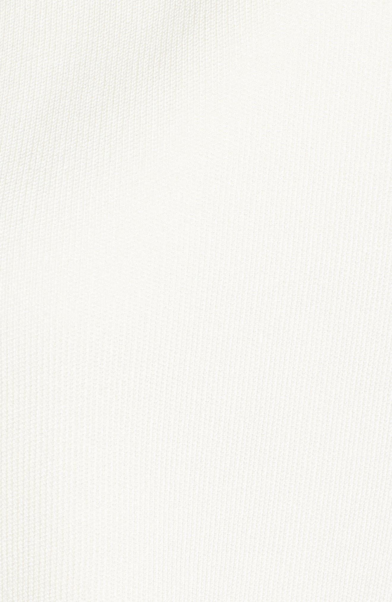 Fatilde Crop Cardigan,                             Alternate thumbnail 6, color,                             White