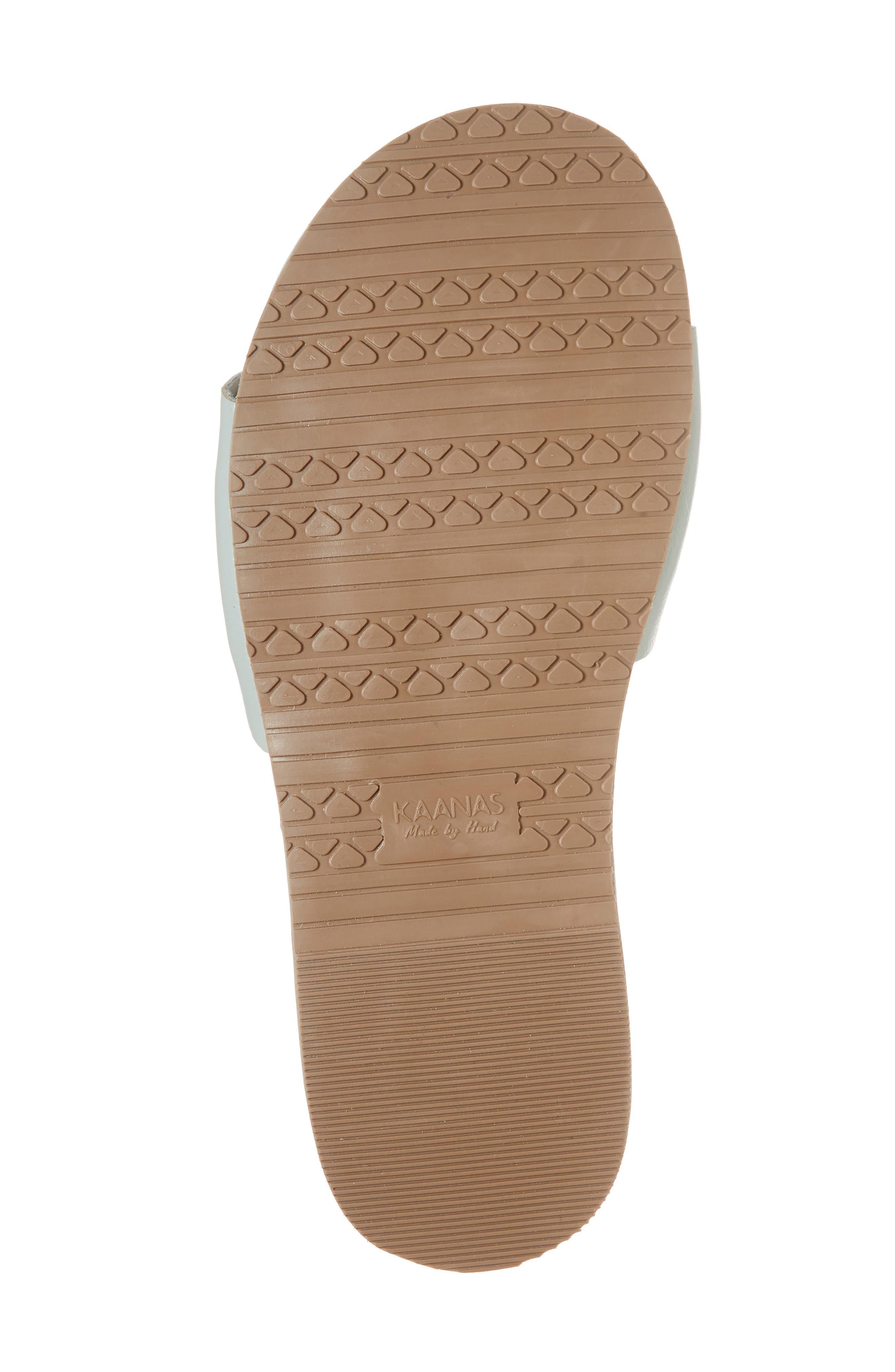 Bodrum Slide Sandal,                             Alternate thumbnail 6, color,                             Mint