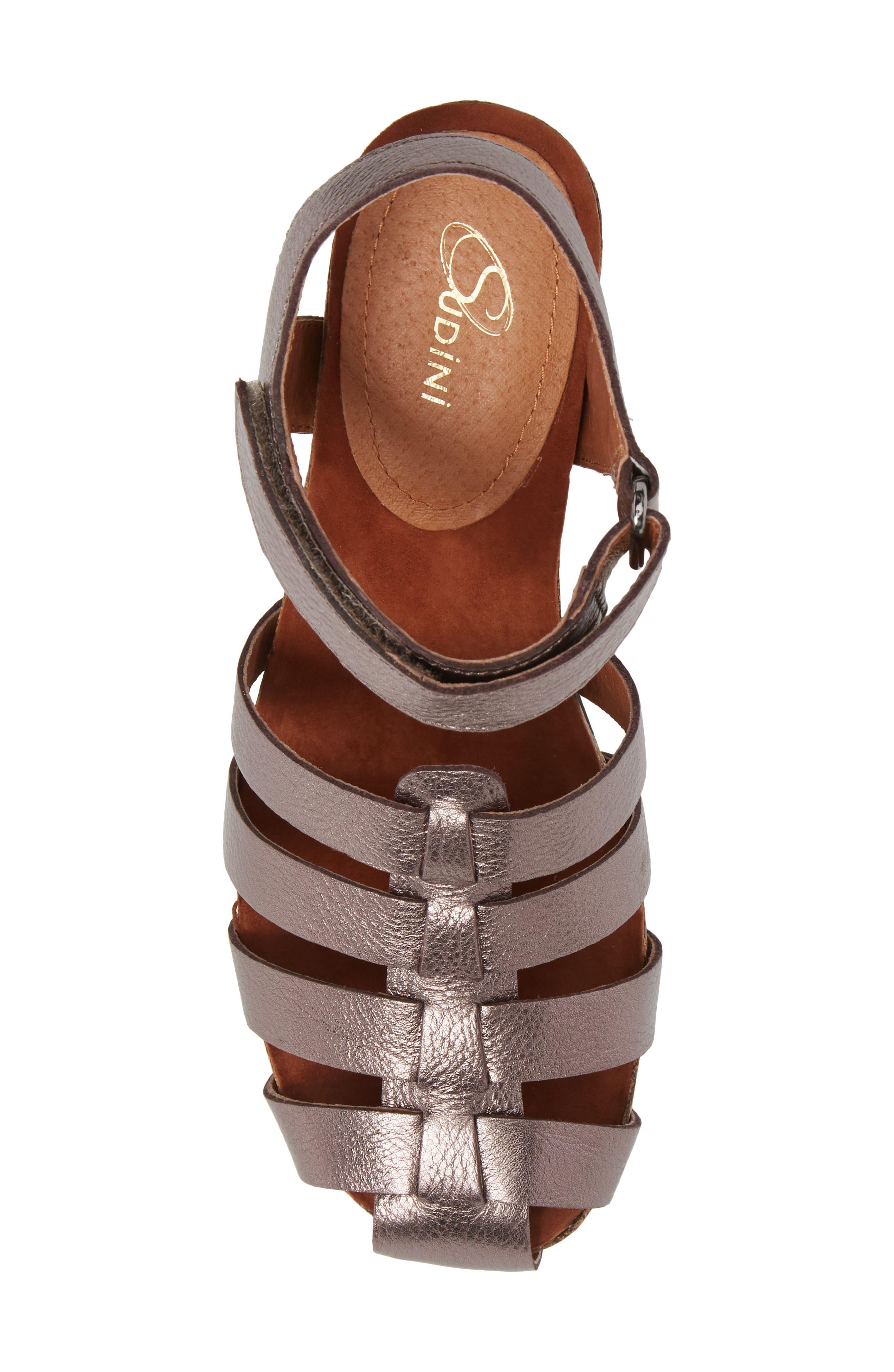 Alternate Image 5  - Sudini Carrara Block Heel Sandal (Women)