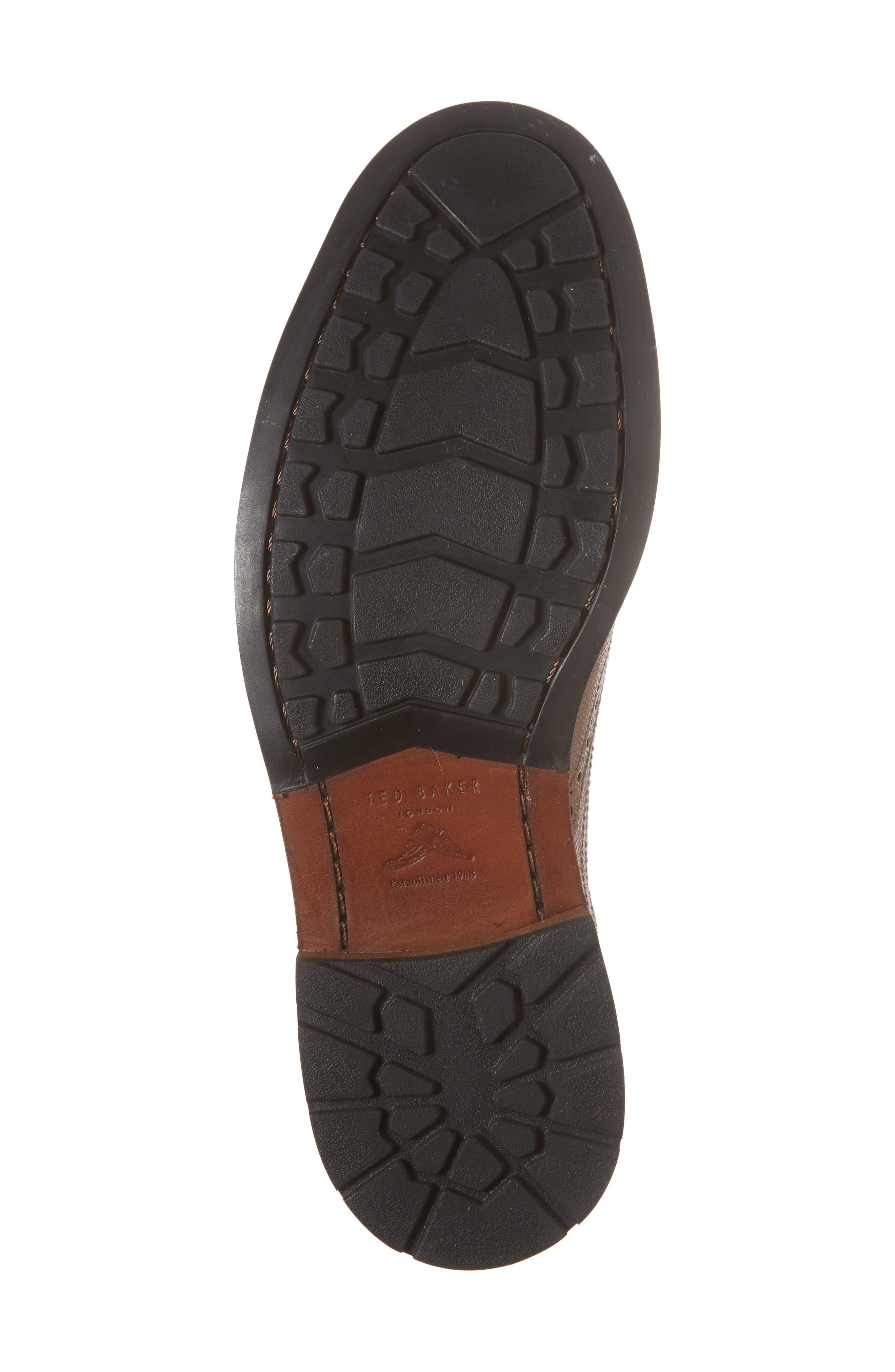 Guri 9 Wingtip,                             Alternate thumbnail 6, color,                             Tan Leather