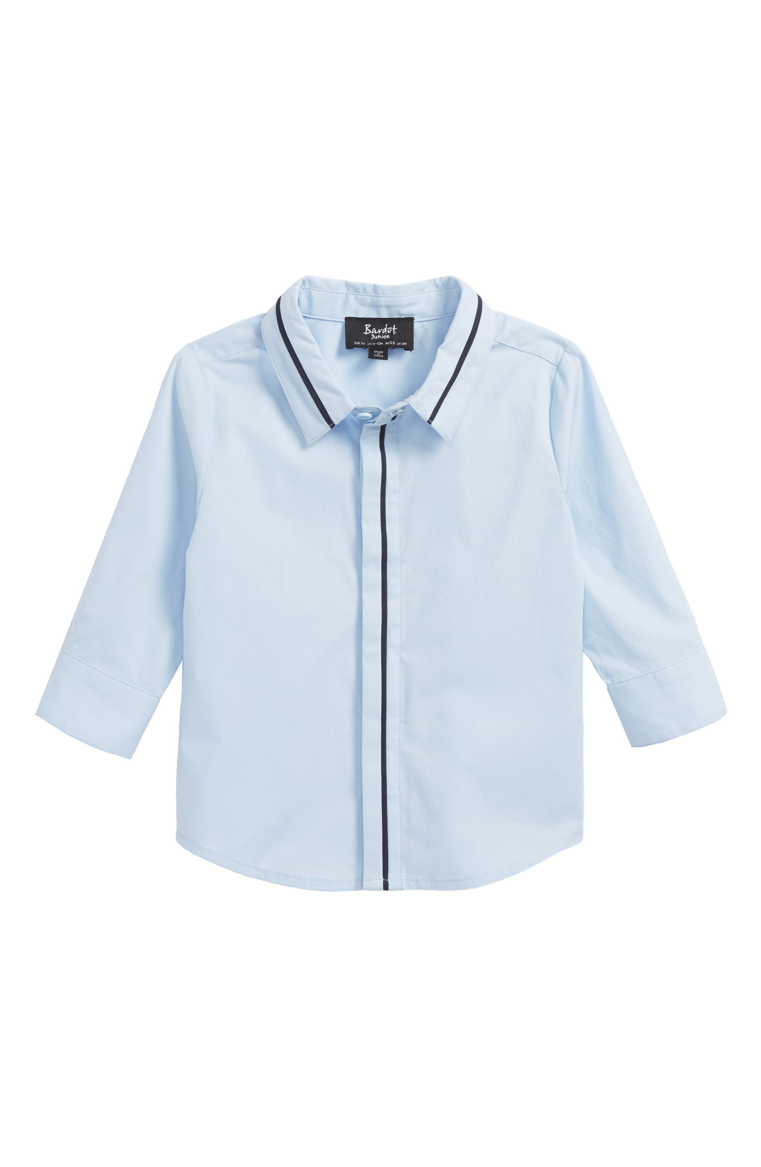 Linear Shirt,                         Main,                         color, Pale Blue