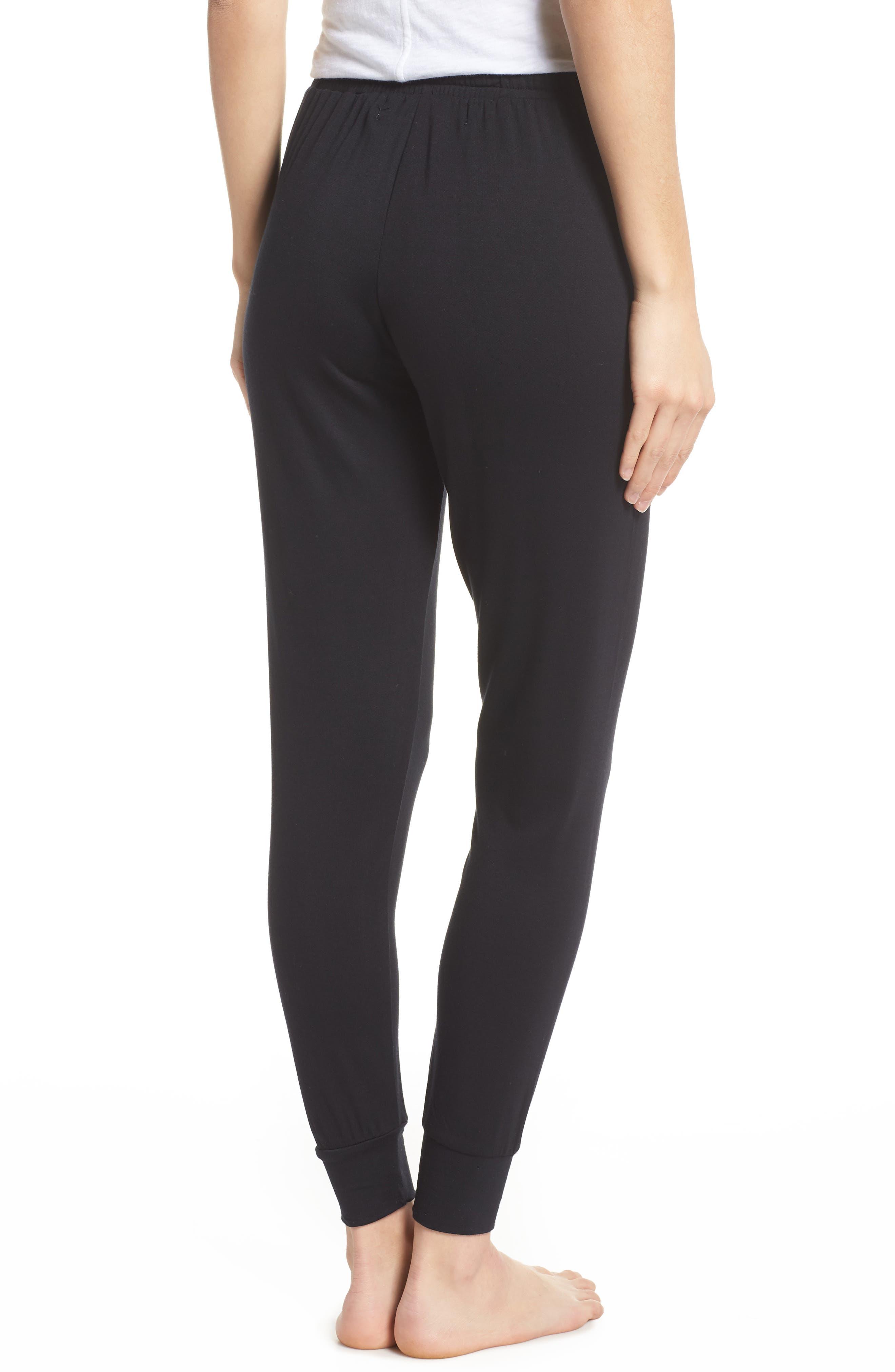 Lounge Pants,                             Alternate thumbnail 2, color,                             Black