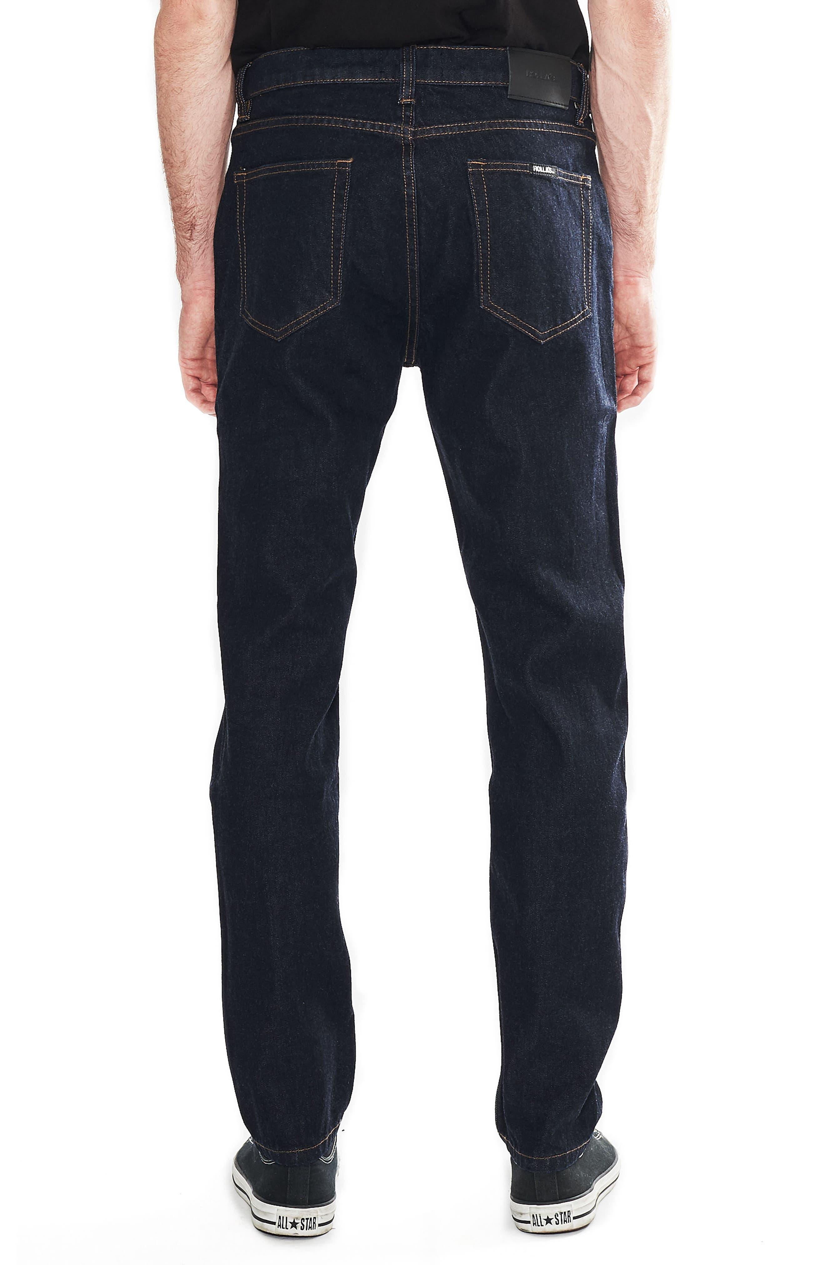 Tim Slims Slim Fit Jeans,                             Alternate thumbnail 2, color,                             Indigo Raw