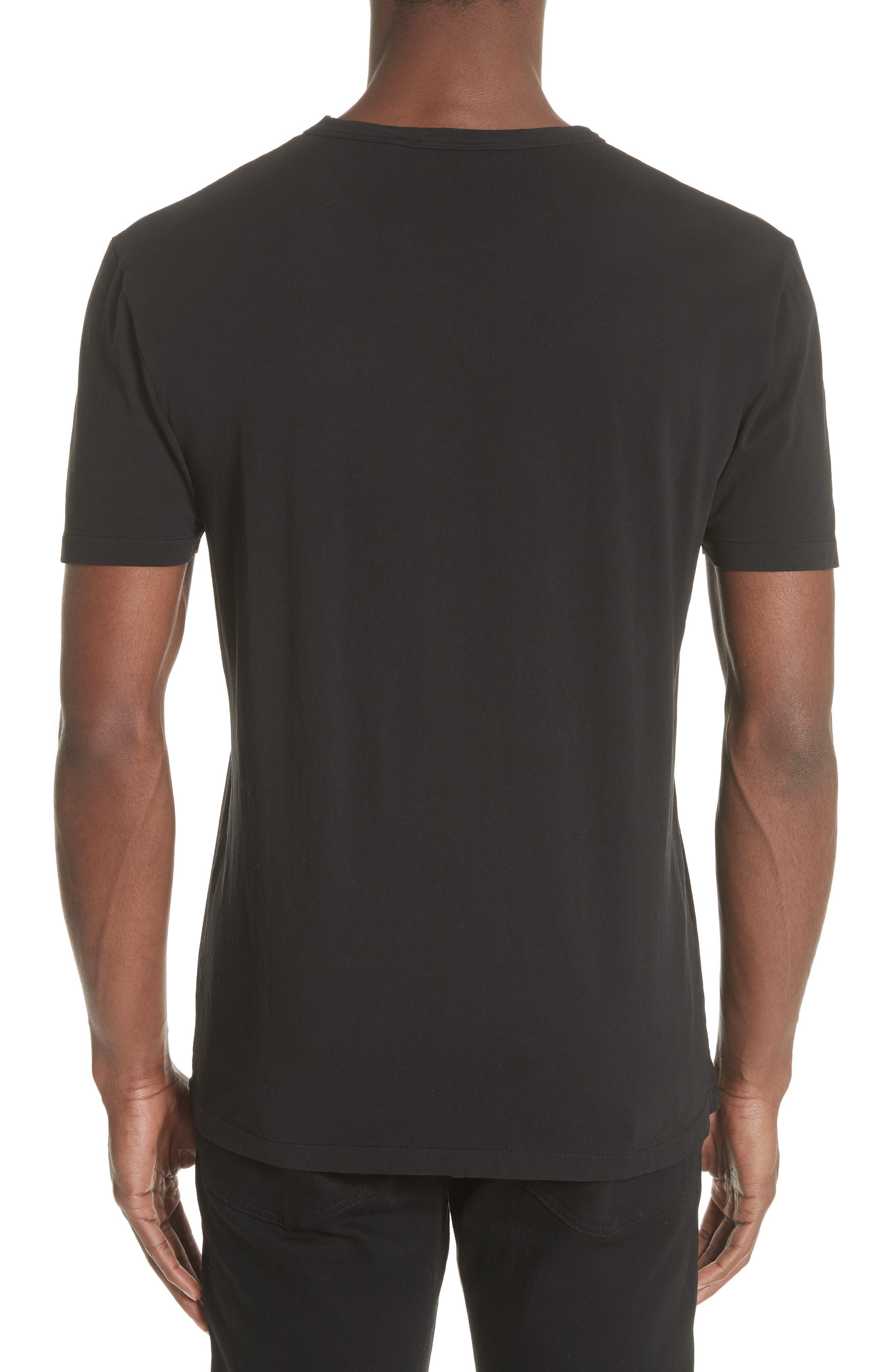 Perfect T-Shirt,                             Alternate thumbnail 2, color,                             Black