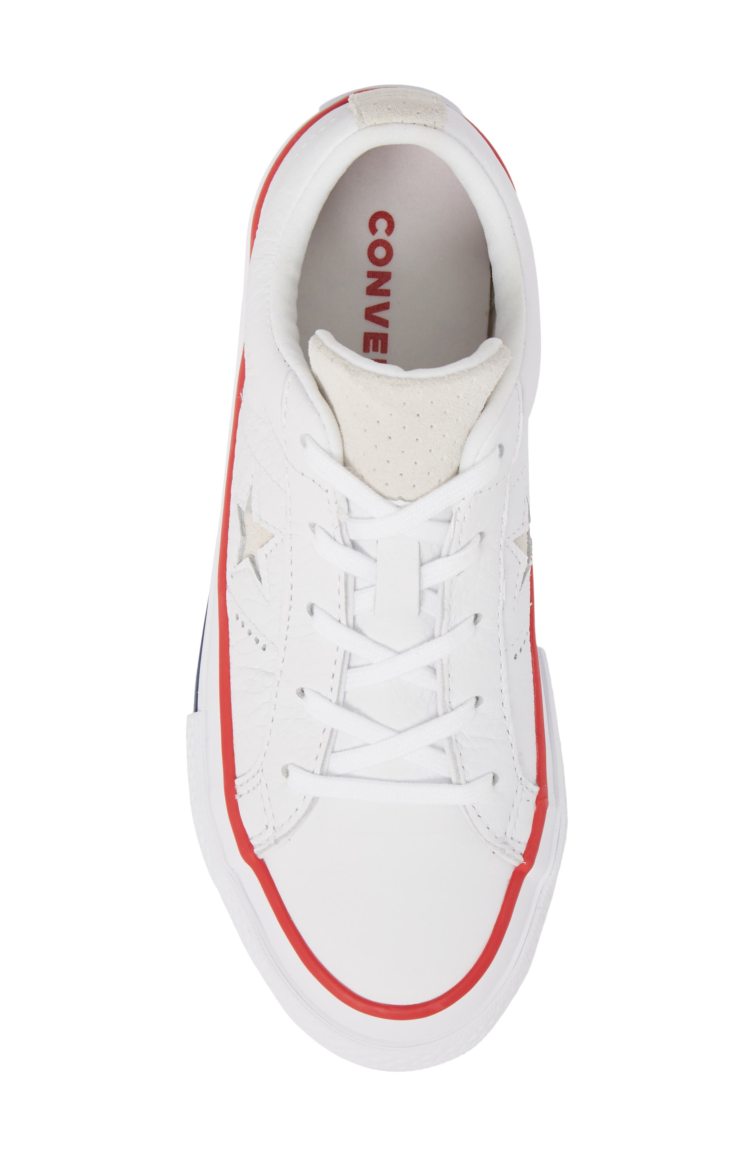 Chuck Taylor<sup>®</sup> All Star<sup>®</sup> New Heritage Oxford Sneaker,                             Alternate thumbnail 5, color,                             White