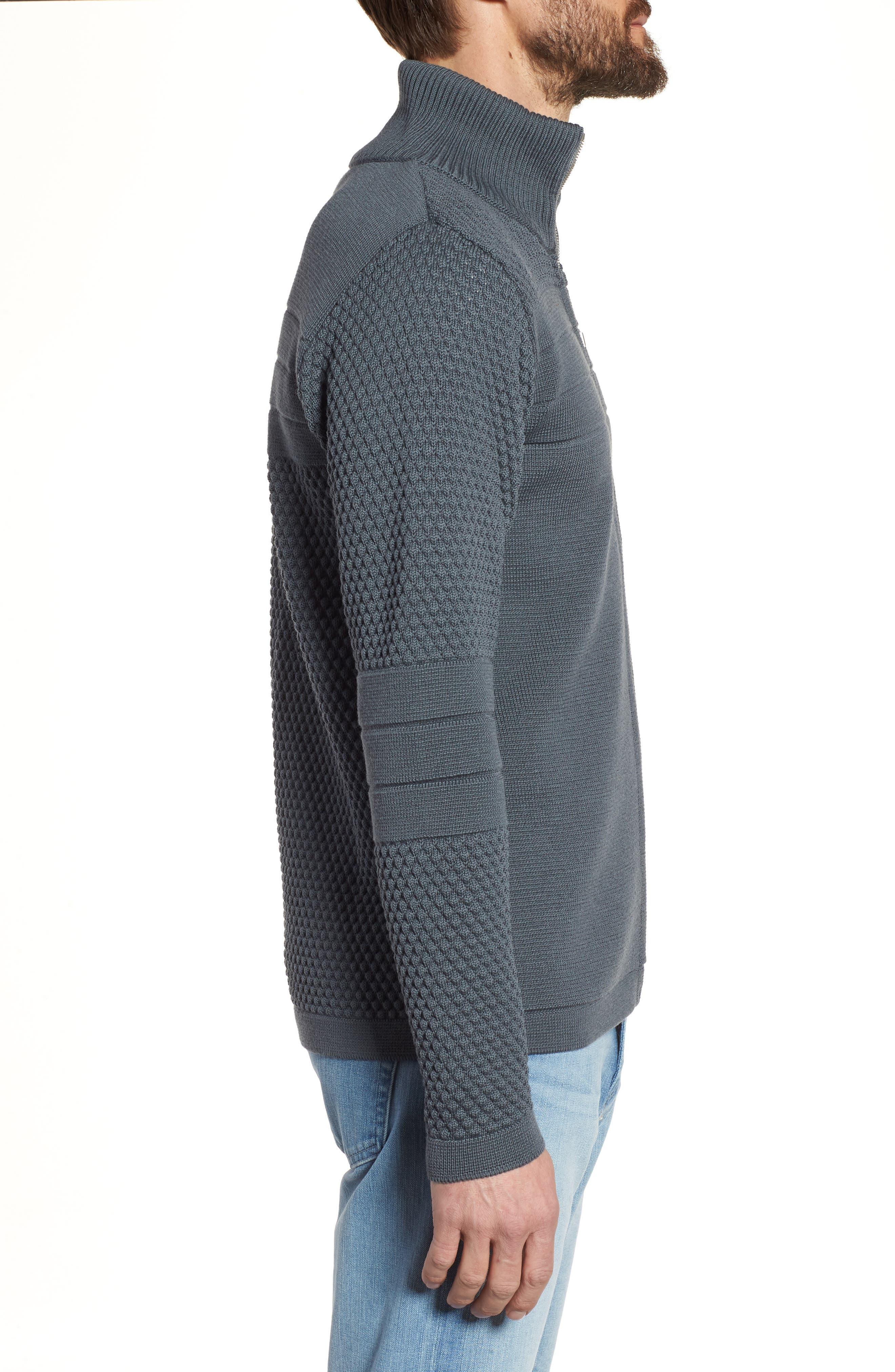Torso Jacket,                             Alternate thumbnail 3, color,                             Uniform Grey