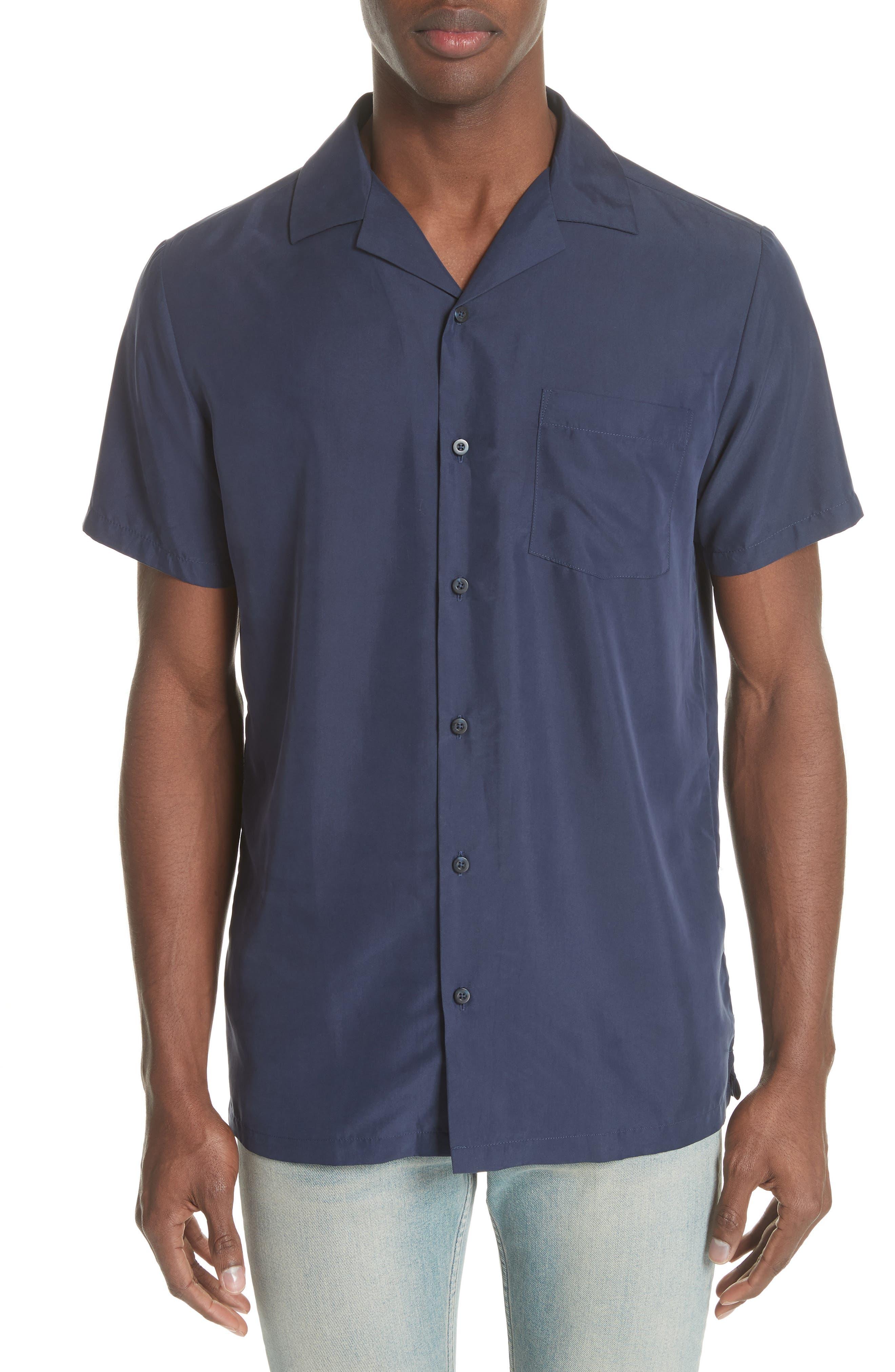 Vacation Shirt,                             Main thumbnail 1, color,                             Deep Navy