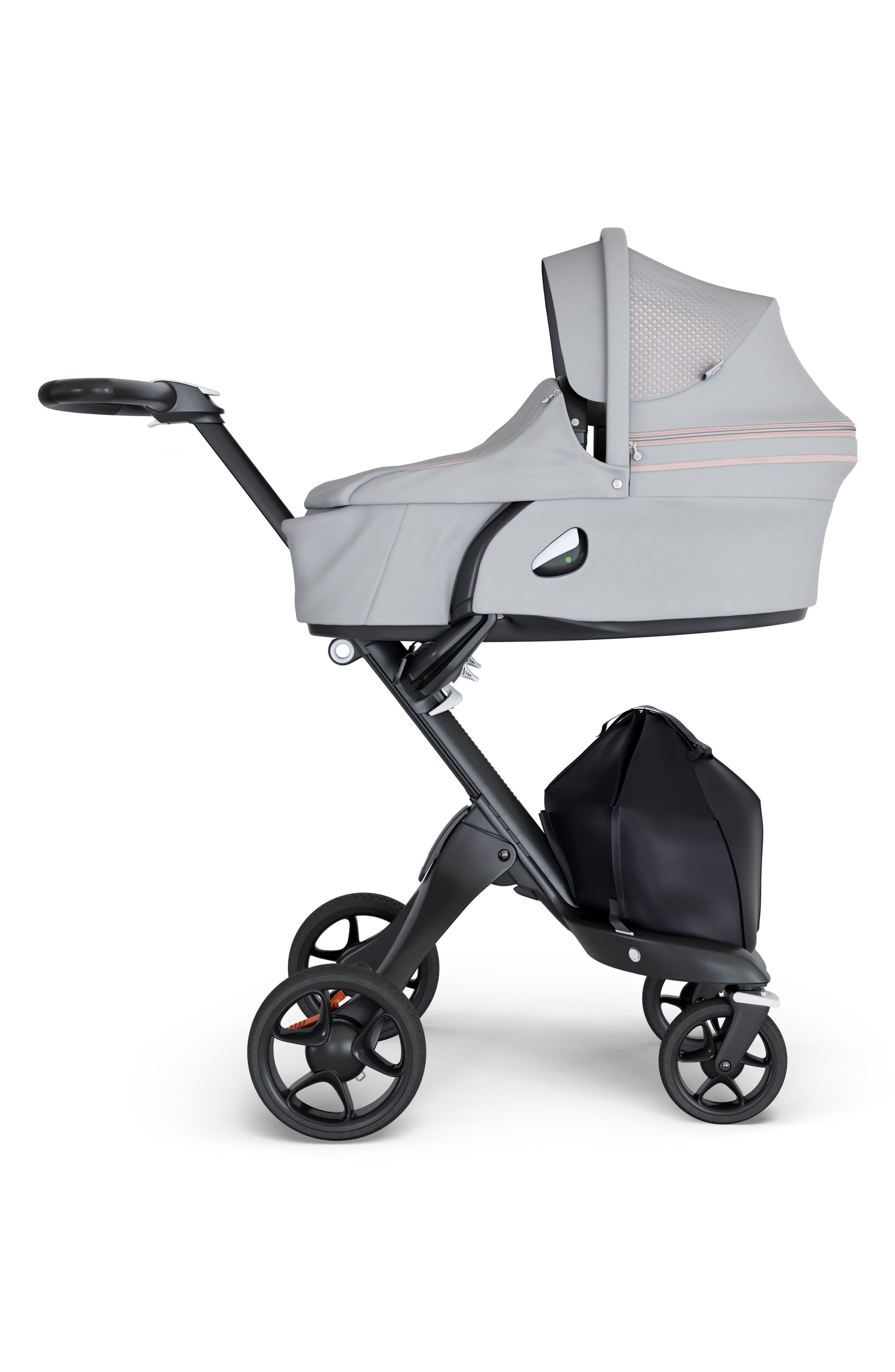 Xplory<sup>®</sup> Athleisure Stroller Carrycot Attachment,                             Main thumbnail 1, color,                             Pink