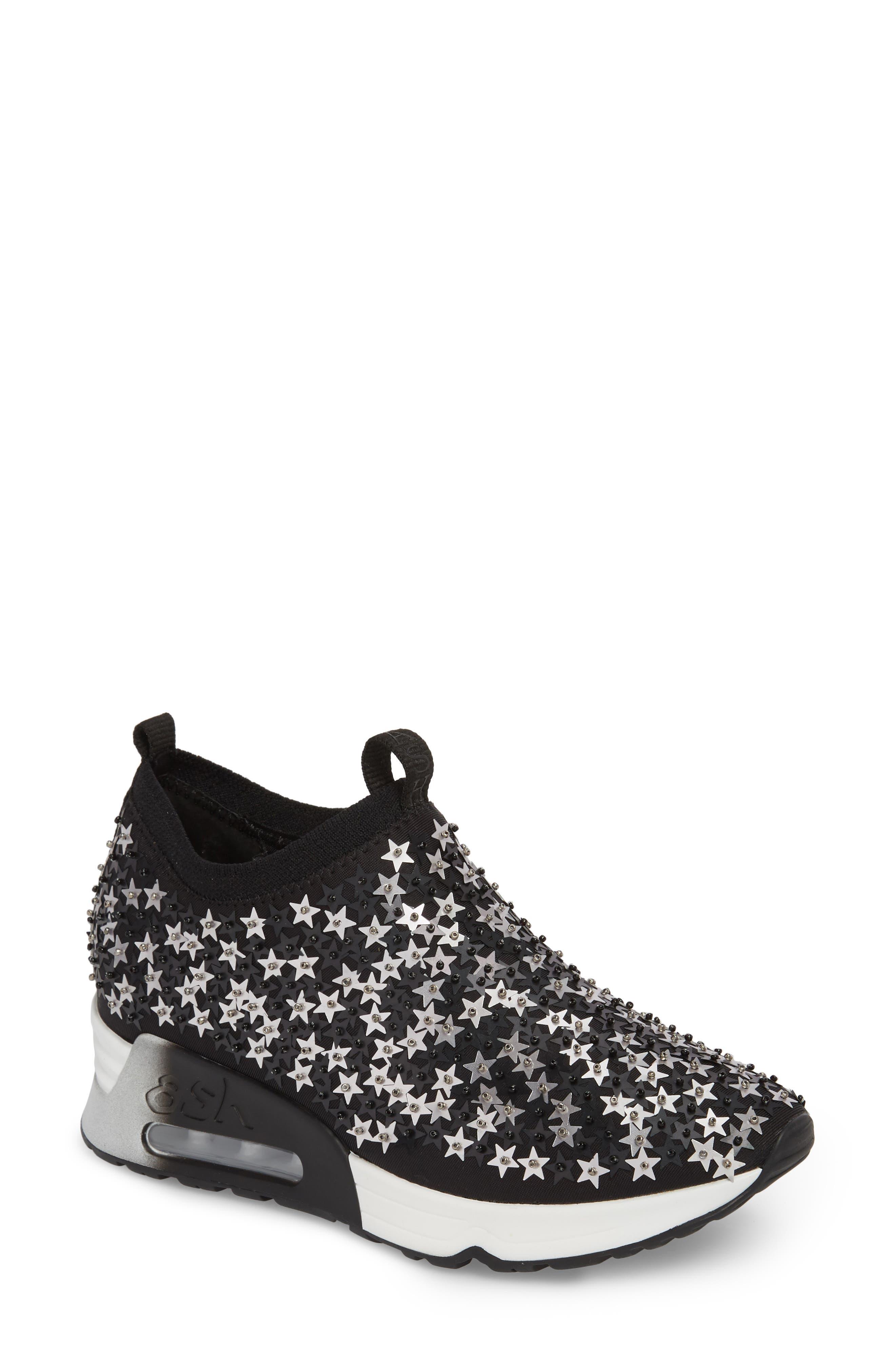 Ash Lighting Star Platform Sock Sneaker (Women)
