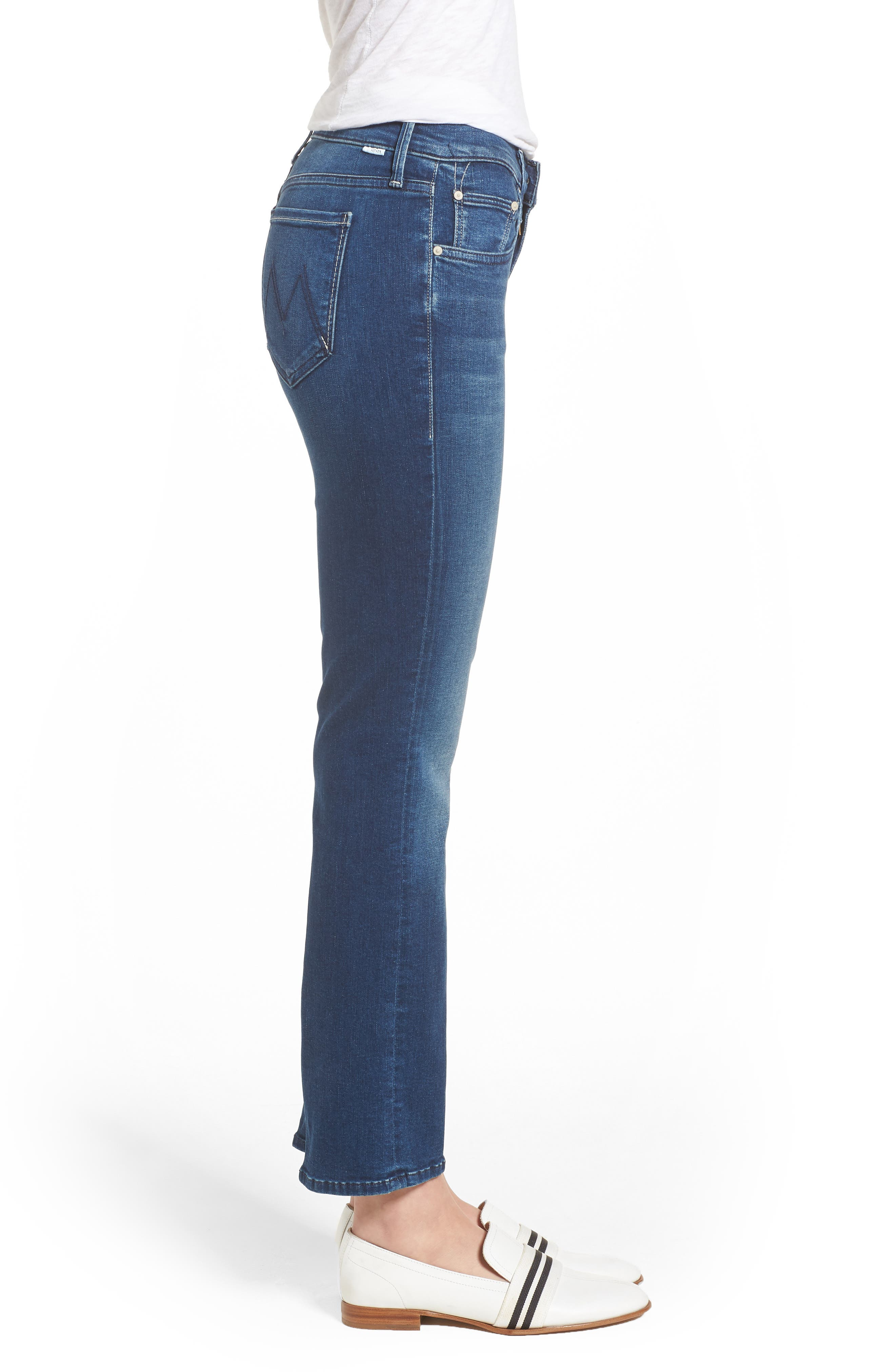 The Outsider Crop Bootcut Jeans,                             Alternate thumbnail 3, color,                             Fast Times